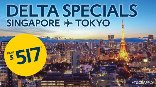 Explore Tokyo from just $517*