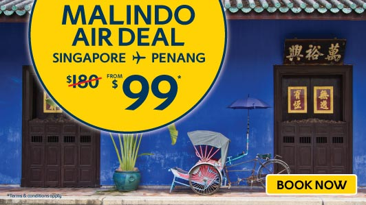Exclusive Air deals to Penang!