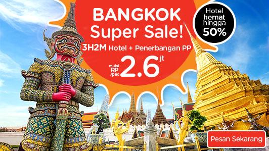 Pesan liburanmu ke Bangkok Sekarang!