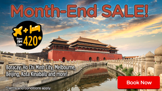 Don't Miss our MONTH-END special savings!