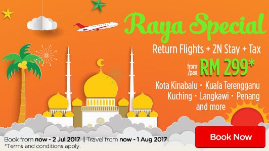 Book your RAYA RAYA getaway now!