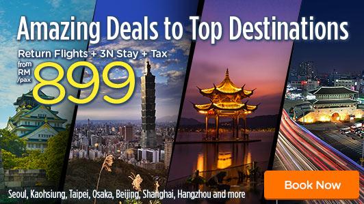 Amazing Deals to Top Destinations
