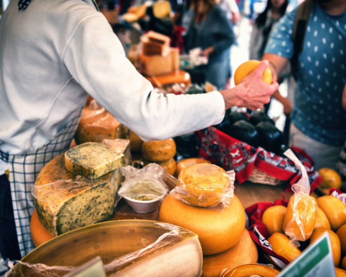 Cities for foodies