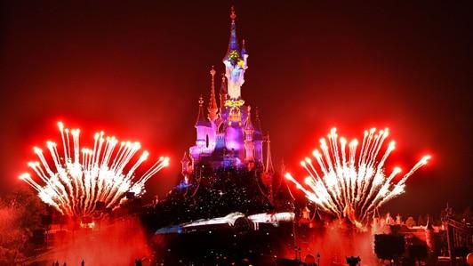 Disney Illuminations Firework Show