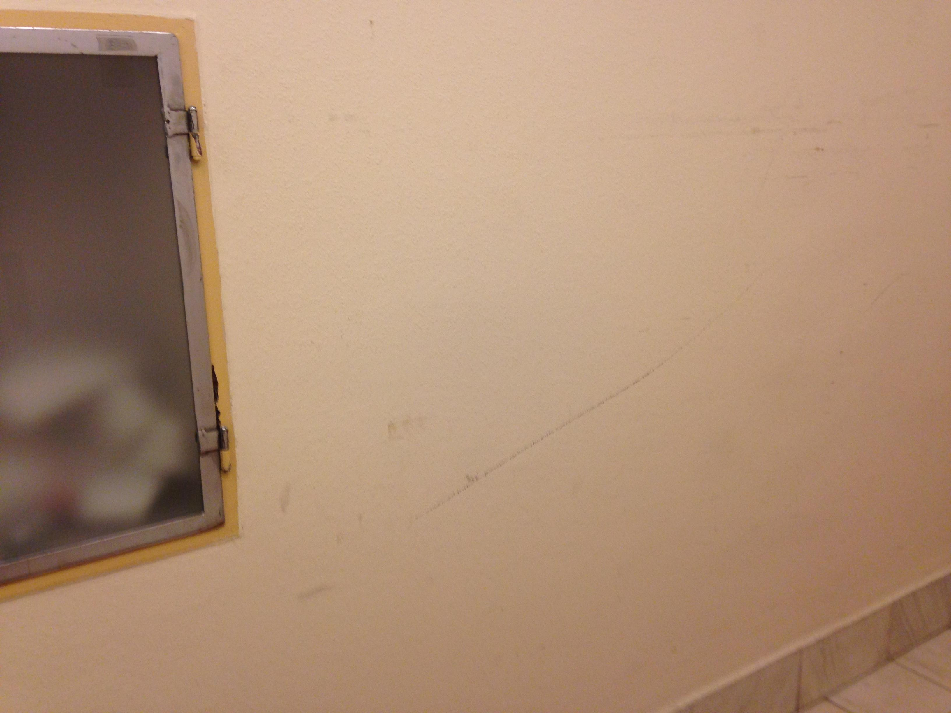 Marks on walls