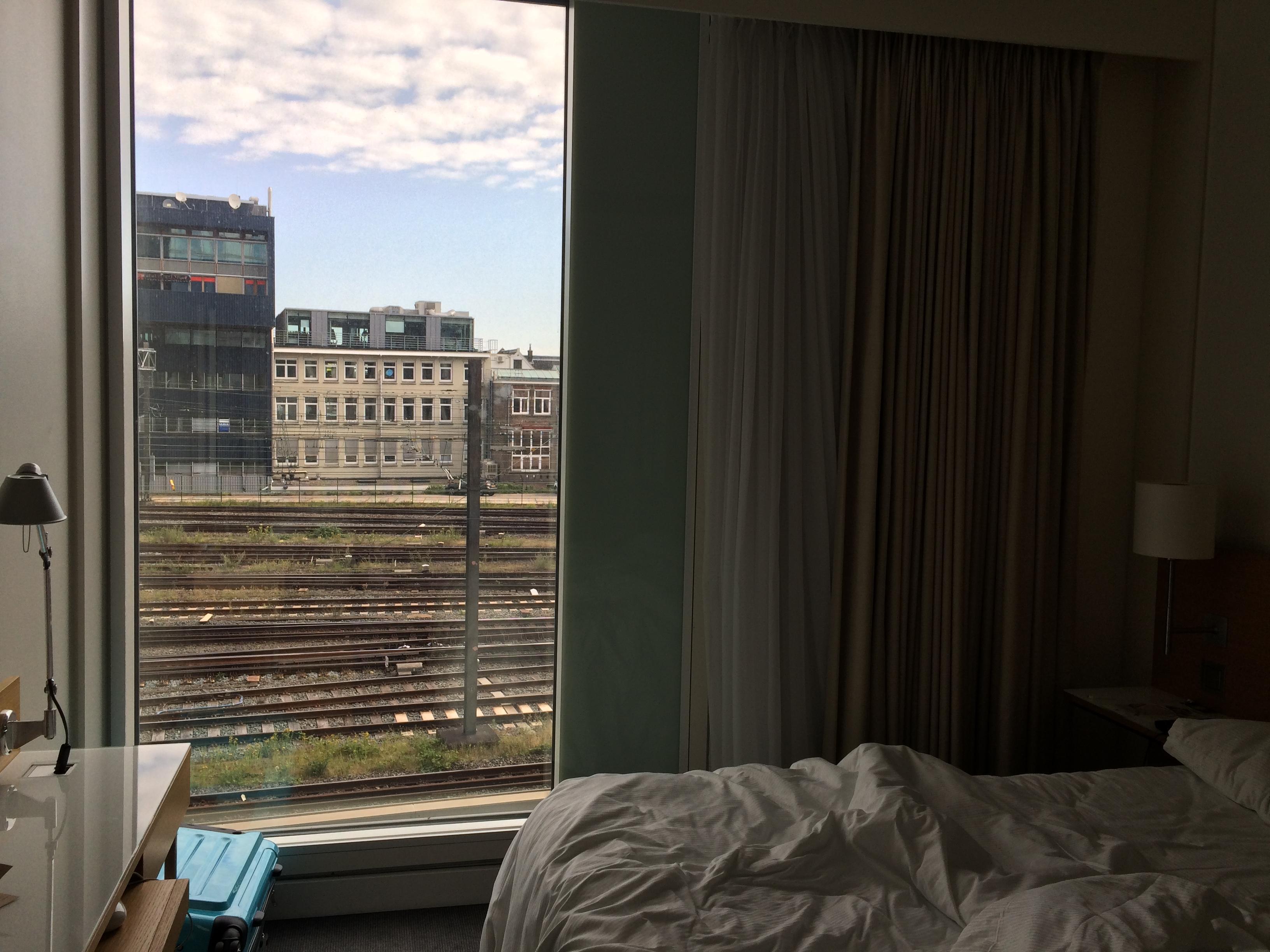 Aussicht vom Schlafzimmer