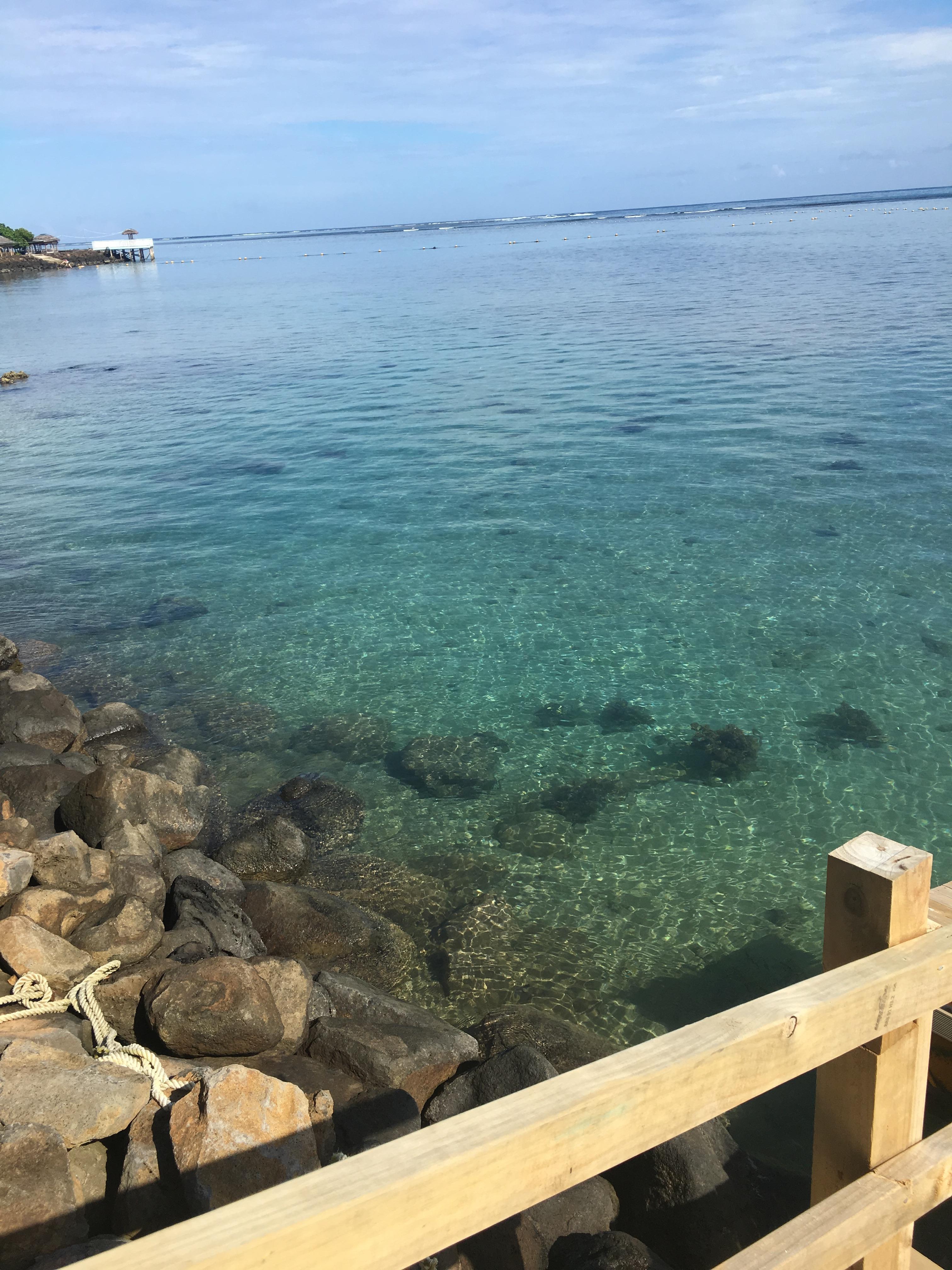 Beach front at LeUaina