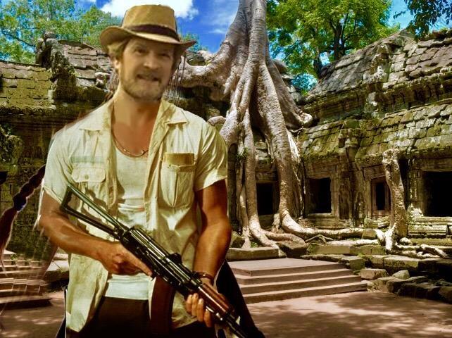 Me at Ta Prohm where Tomb Raider was filmed