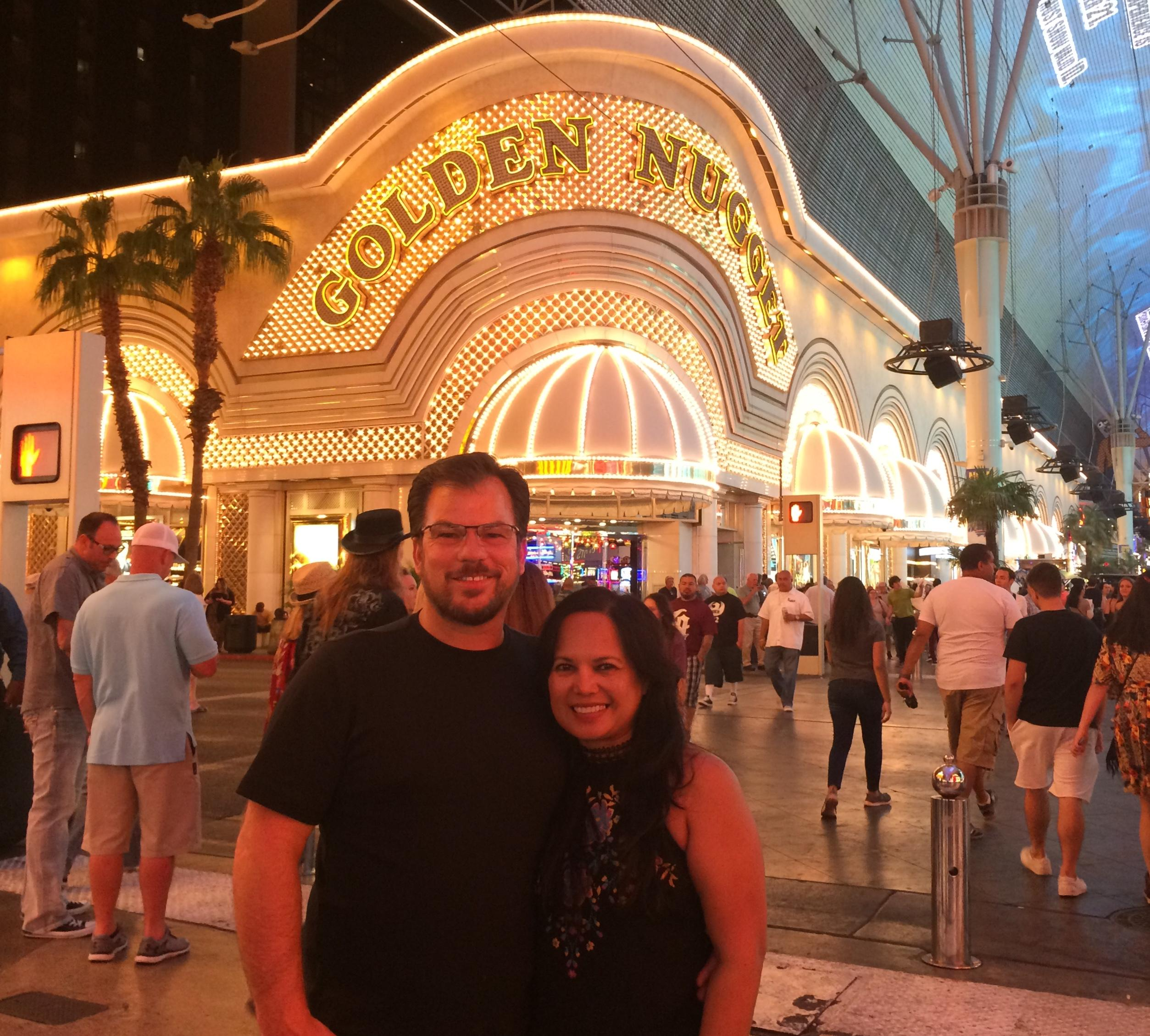 We stayed at Golden Nugget the day my husband and I got married on October 4'14. It was our happiest day ever!!! We fly back and try different hotels at Fremont but unfortunately the staff and accommodations at the D casino was not very good!!!