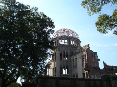 The atom bomb dome, 10 min walk from hotel