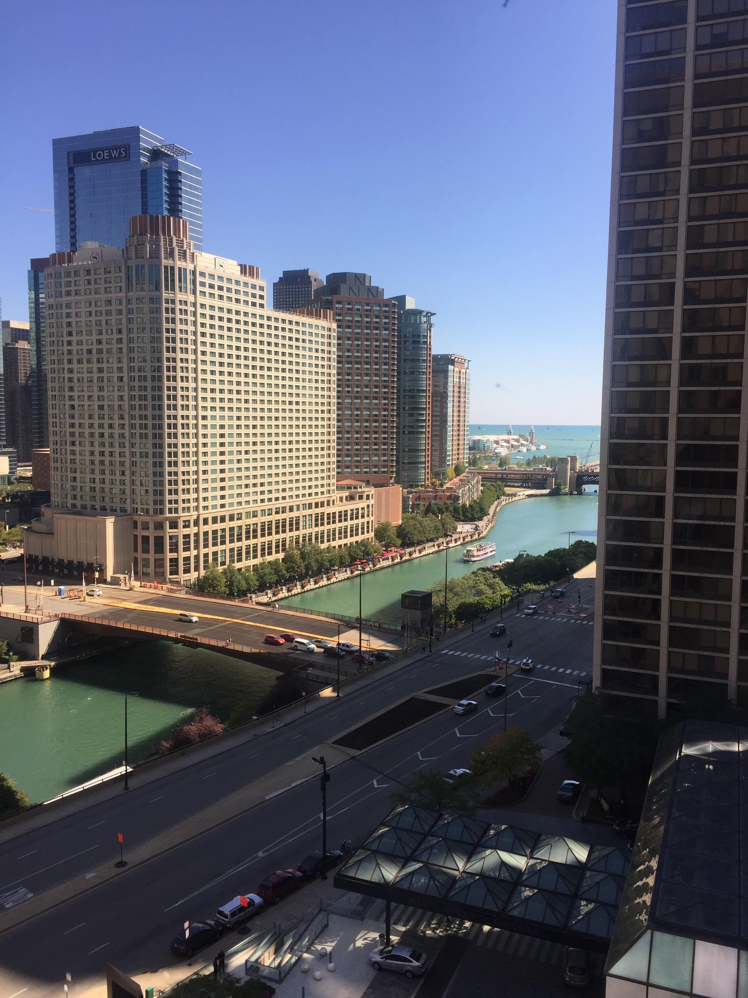 view from 1412 west tower