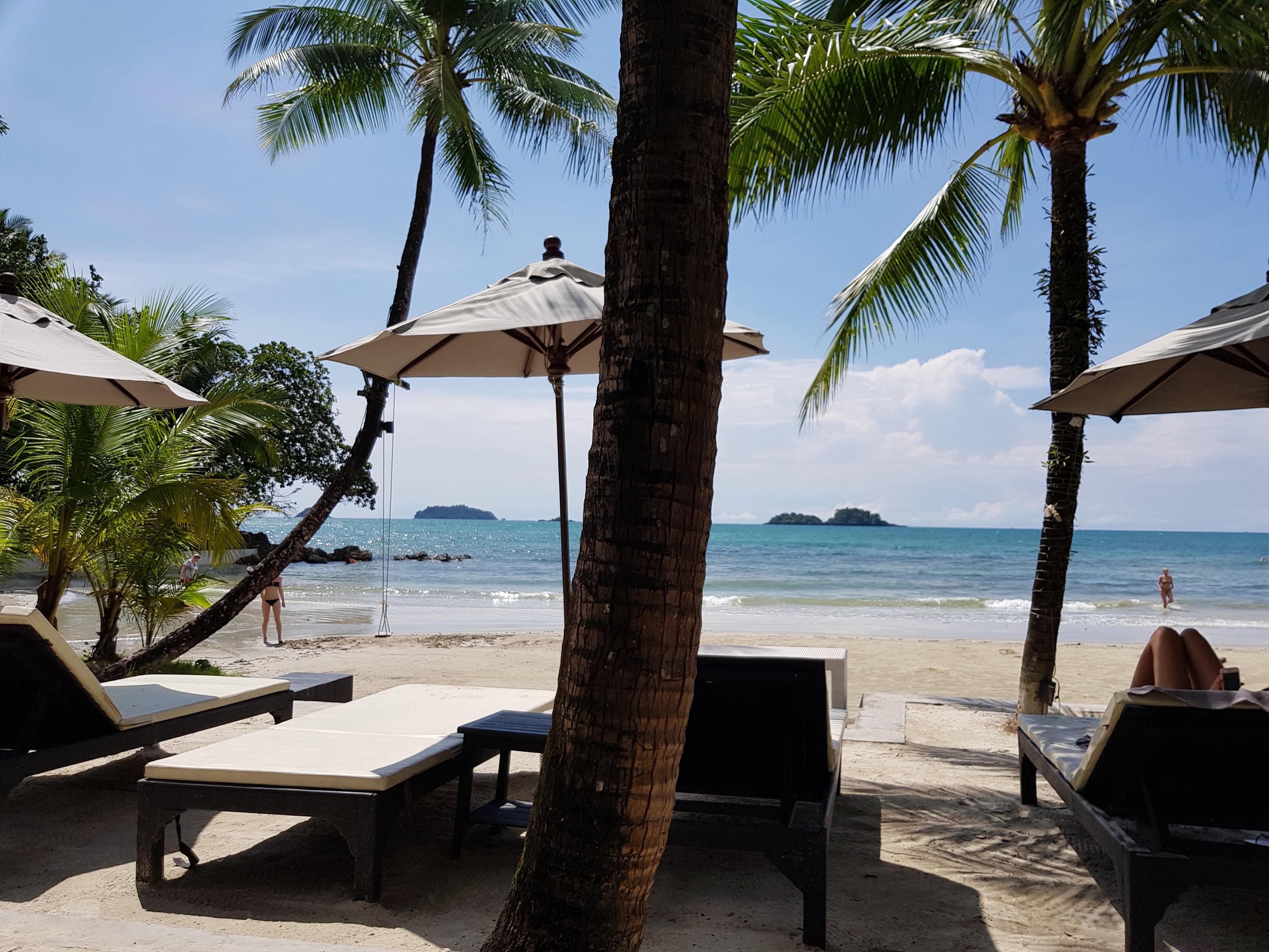 Strand direkt am Hotel