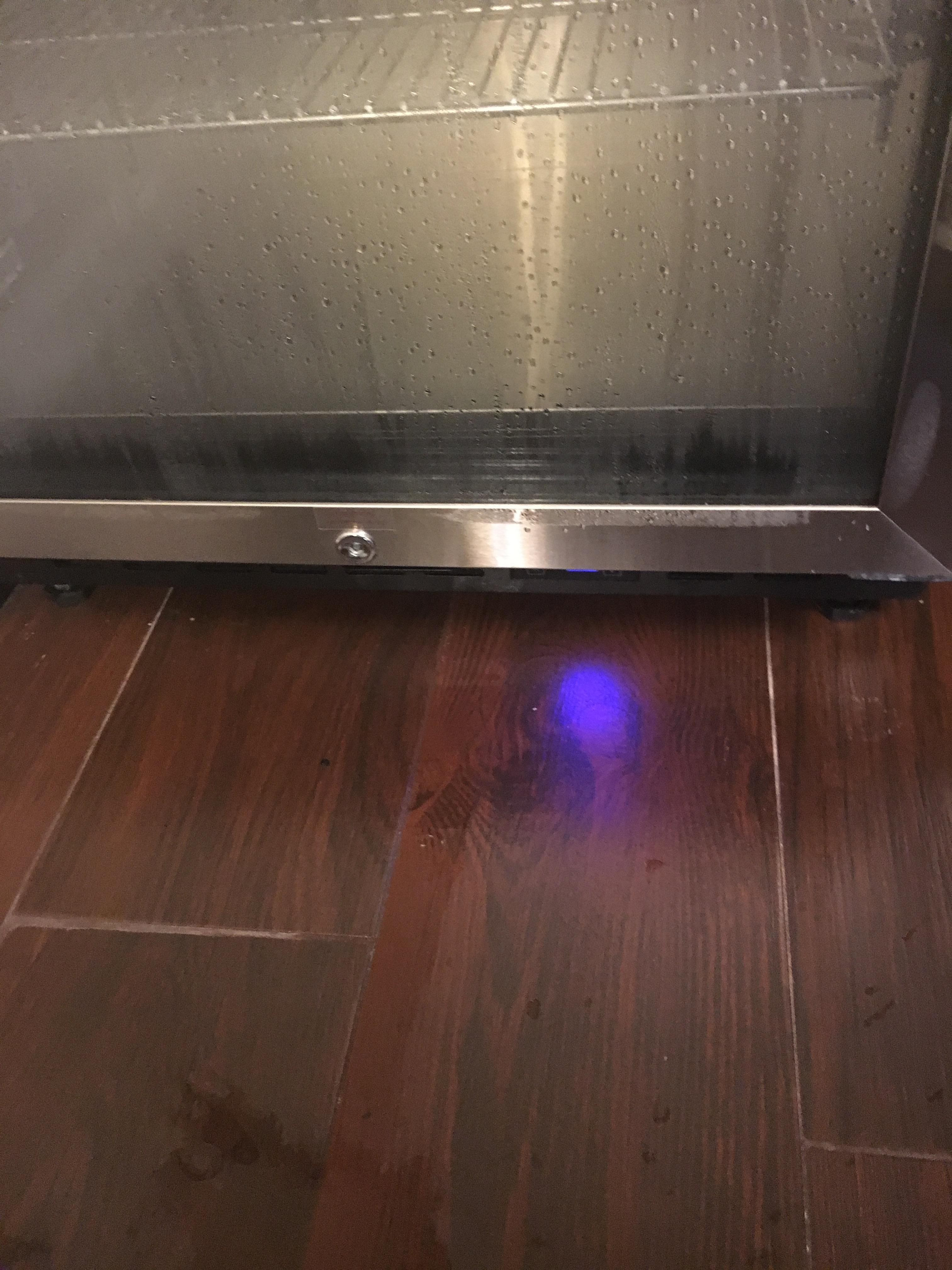 Leaky fridge