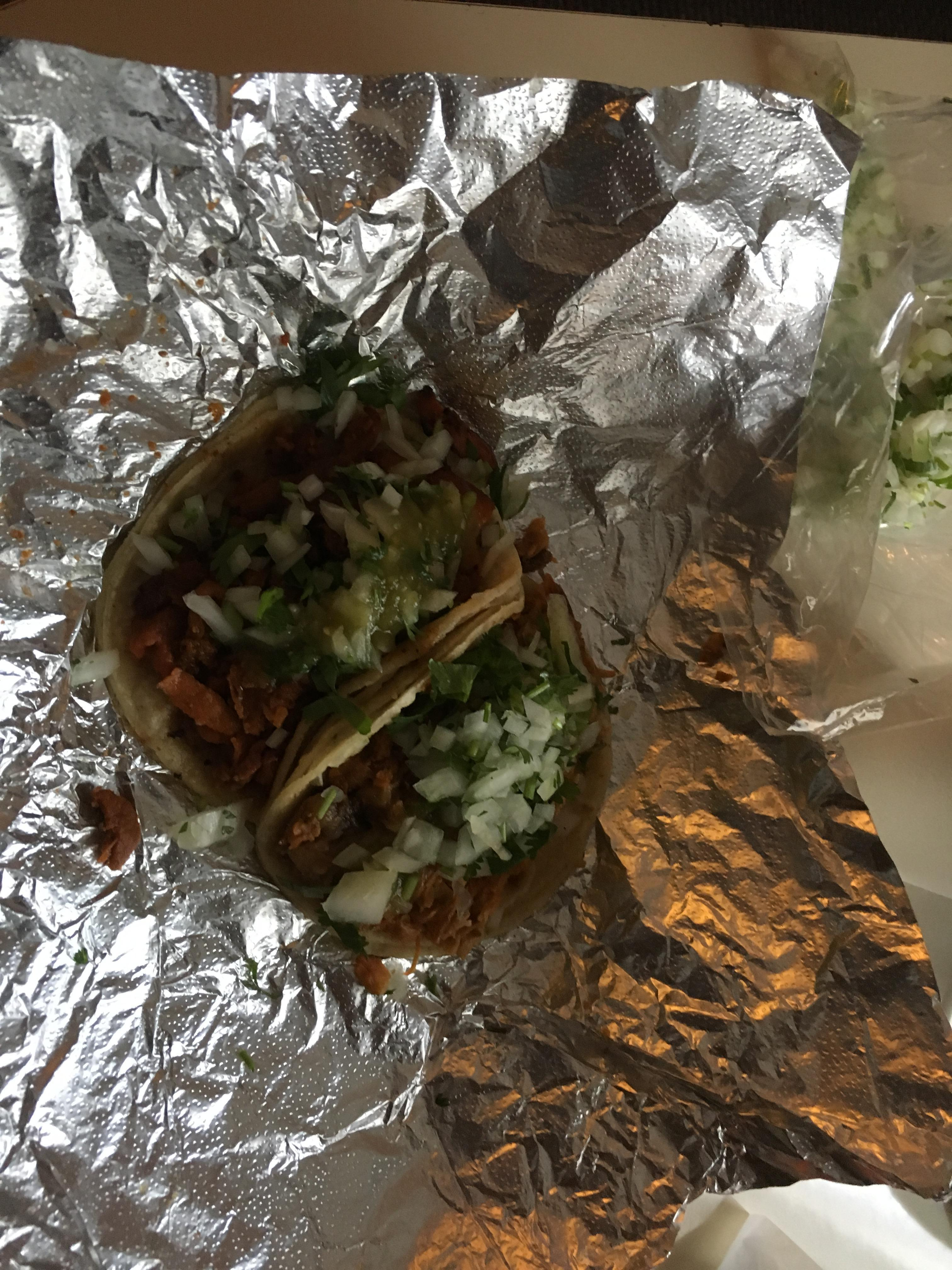Tacos from taco truck