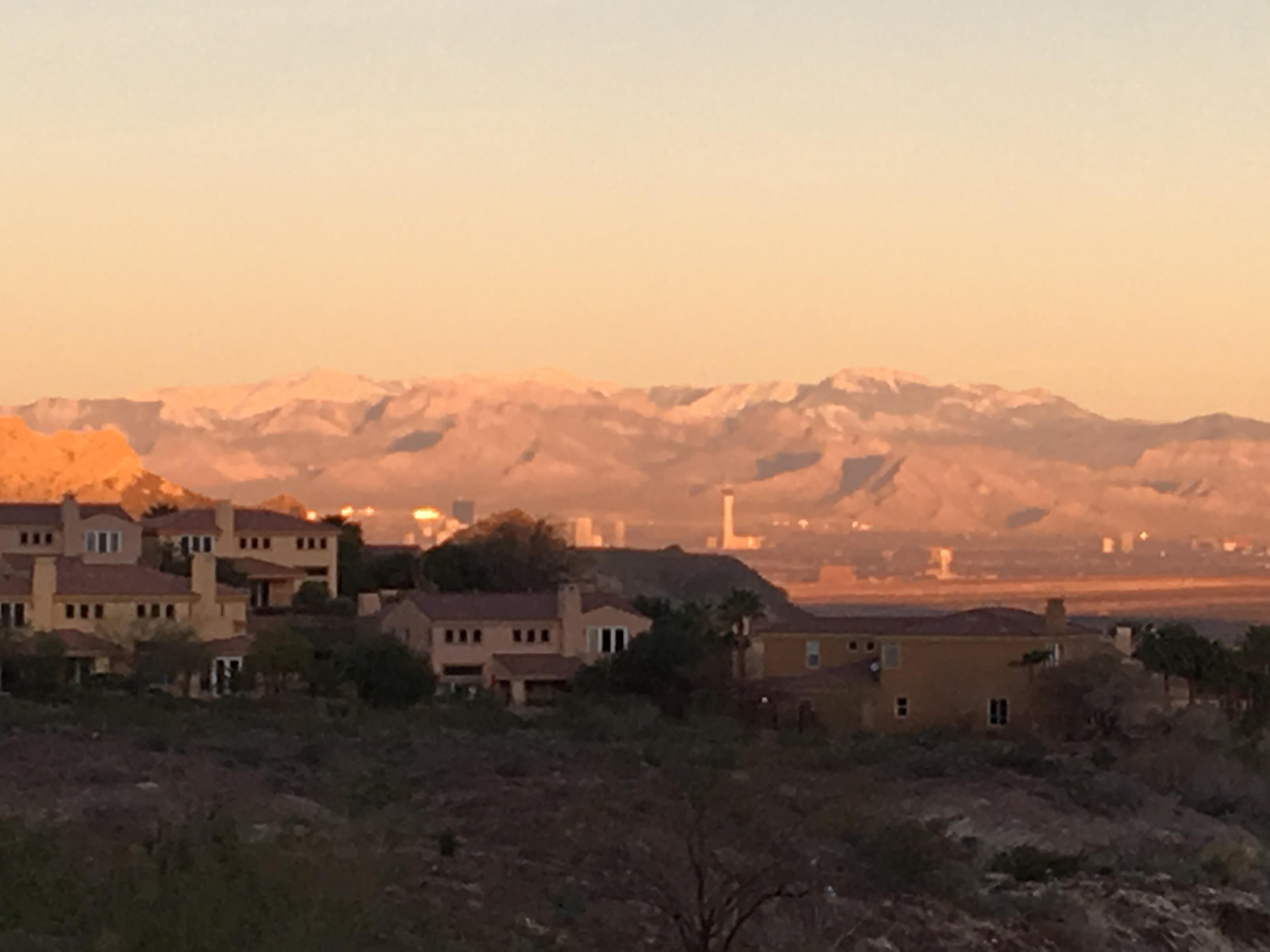 View from top of neighborhood