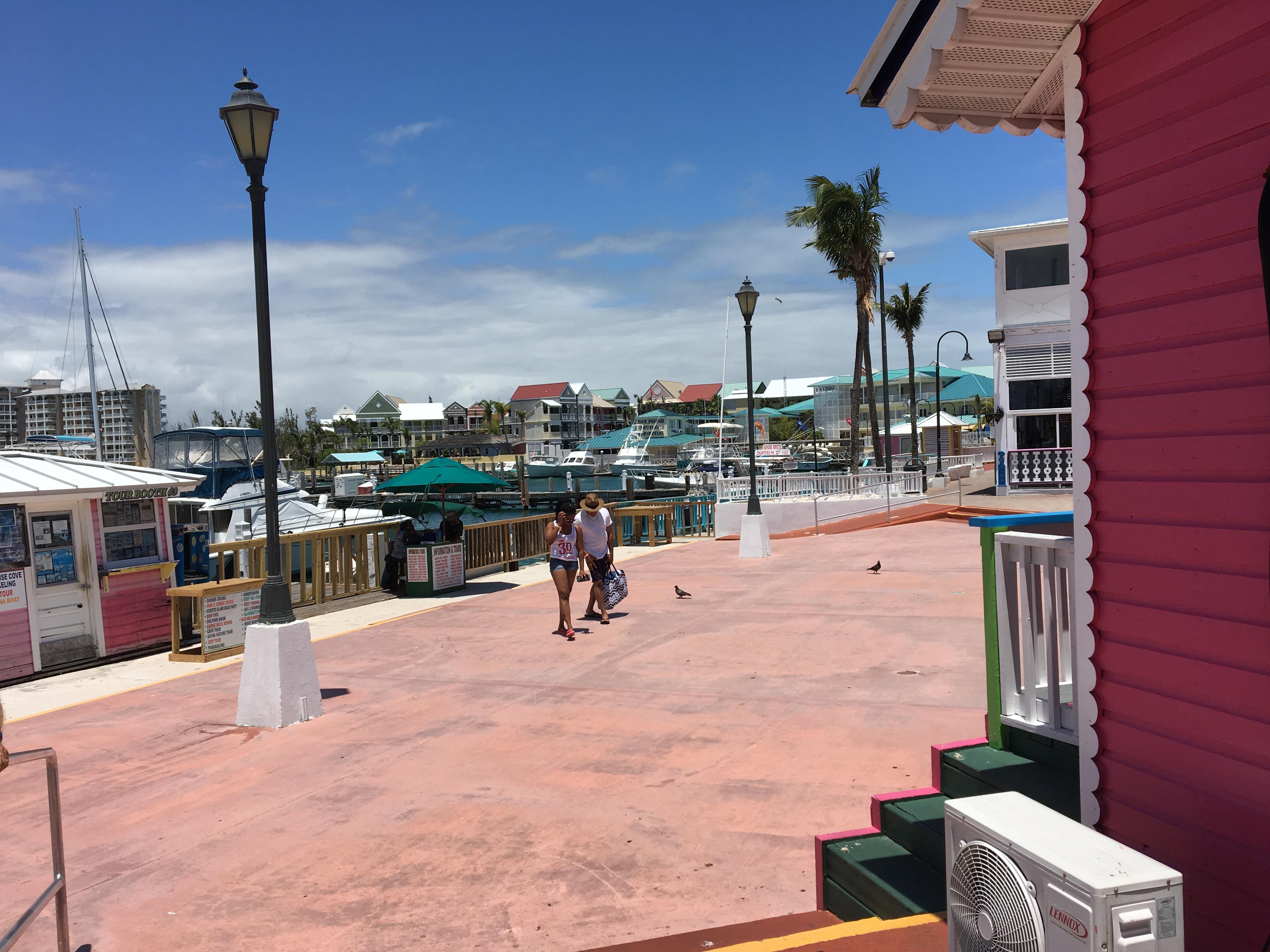 Pelican Bay Hotel from Lacaya Market