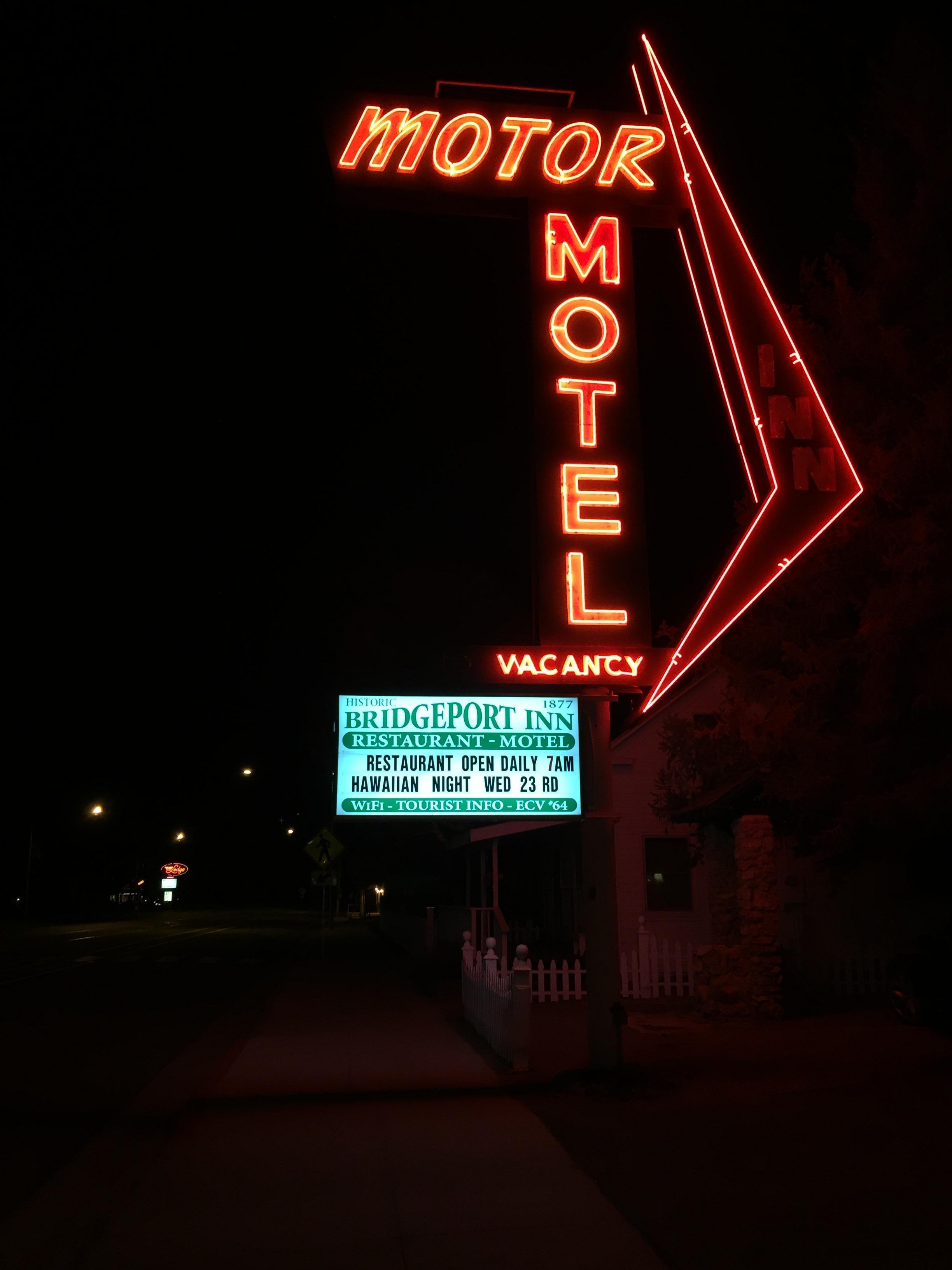 The sign is even nostalgic- but original