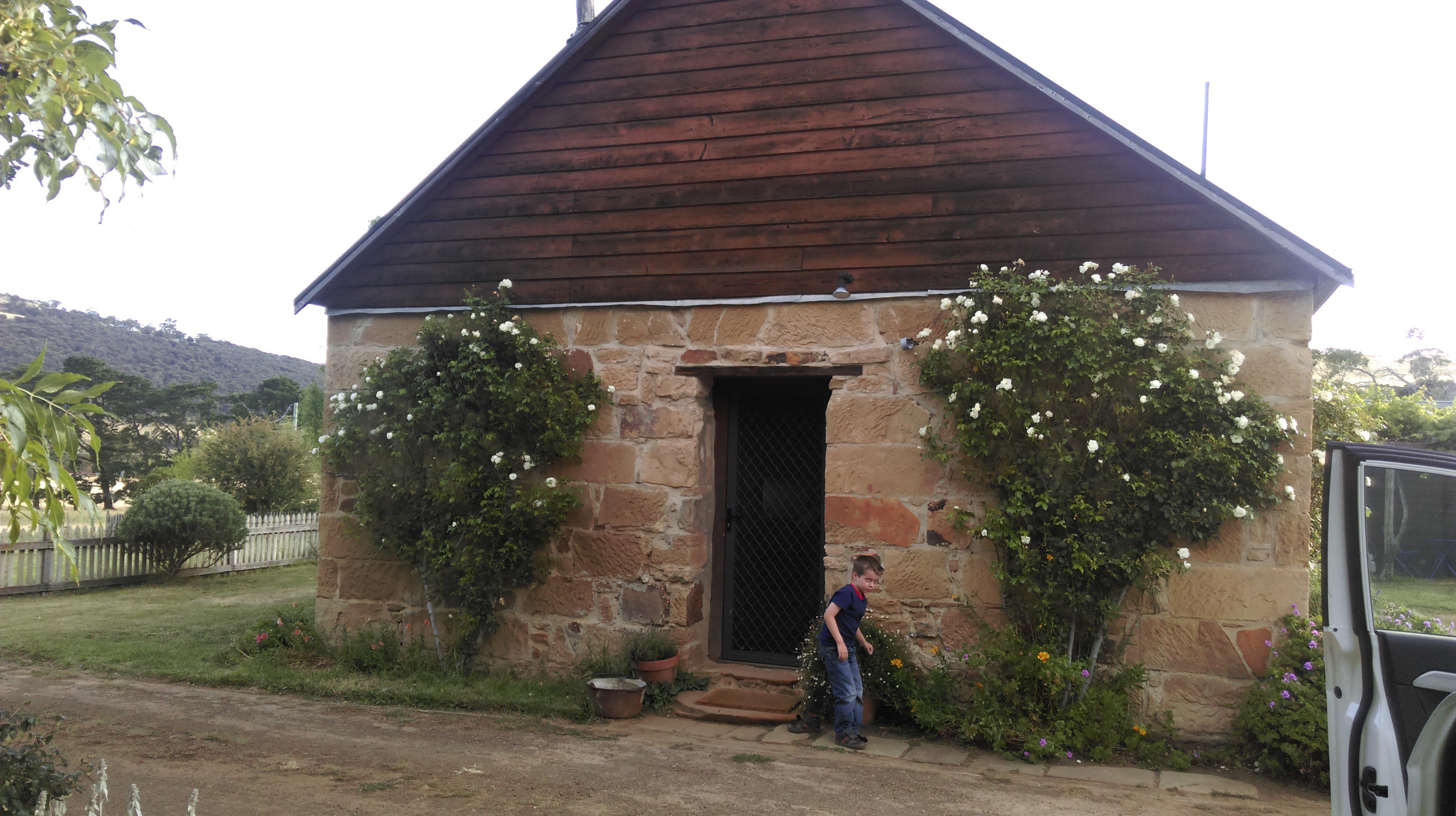 Family Cottage (side entrance)