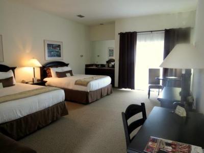Big, comfy room.