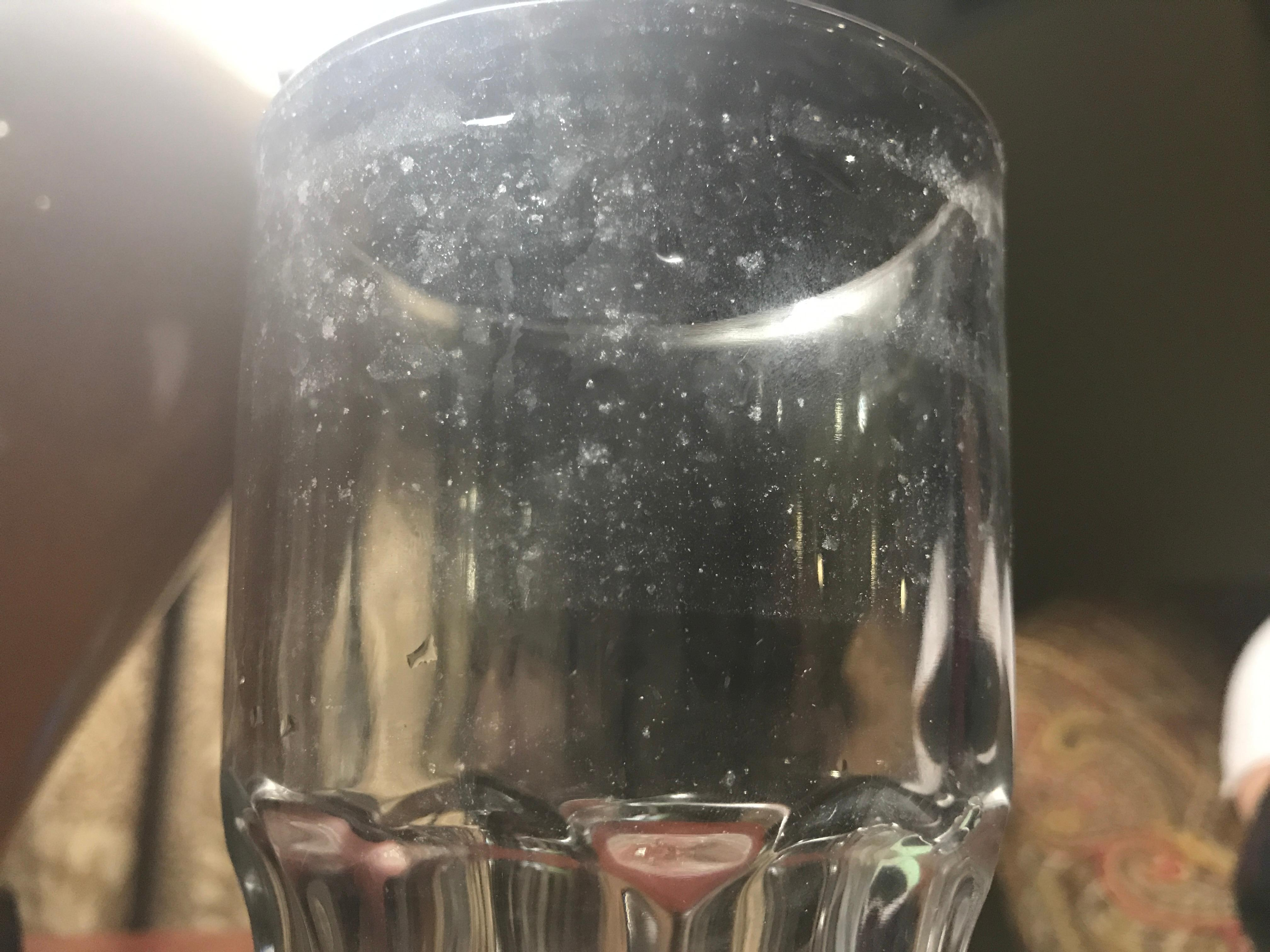 Filthy glass