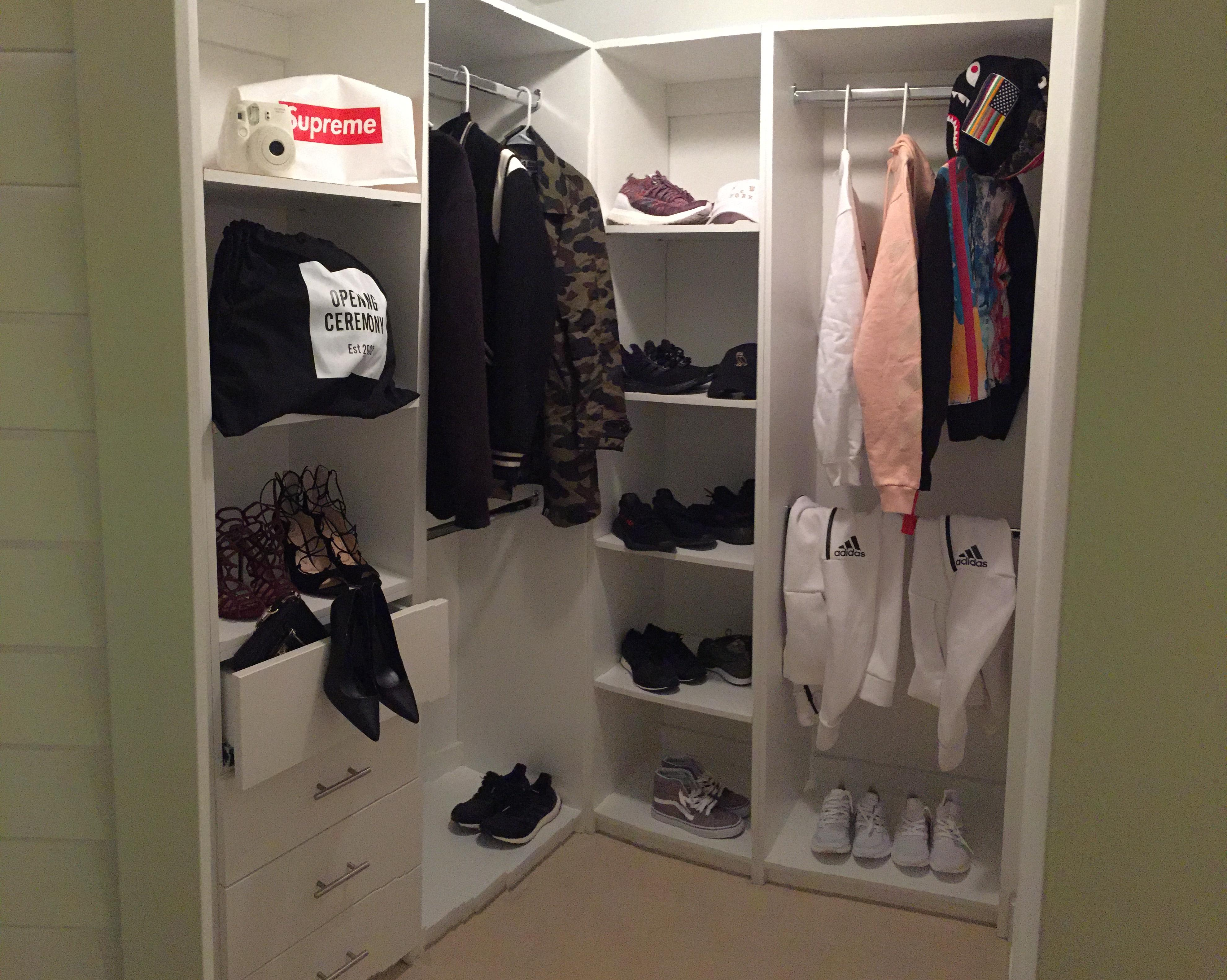 Hers and Hers closet