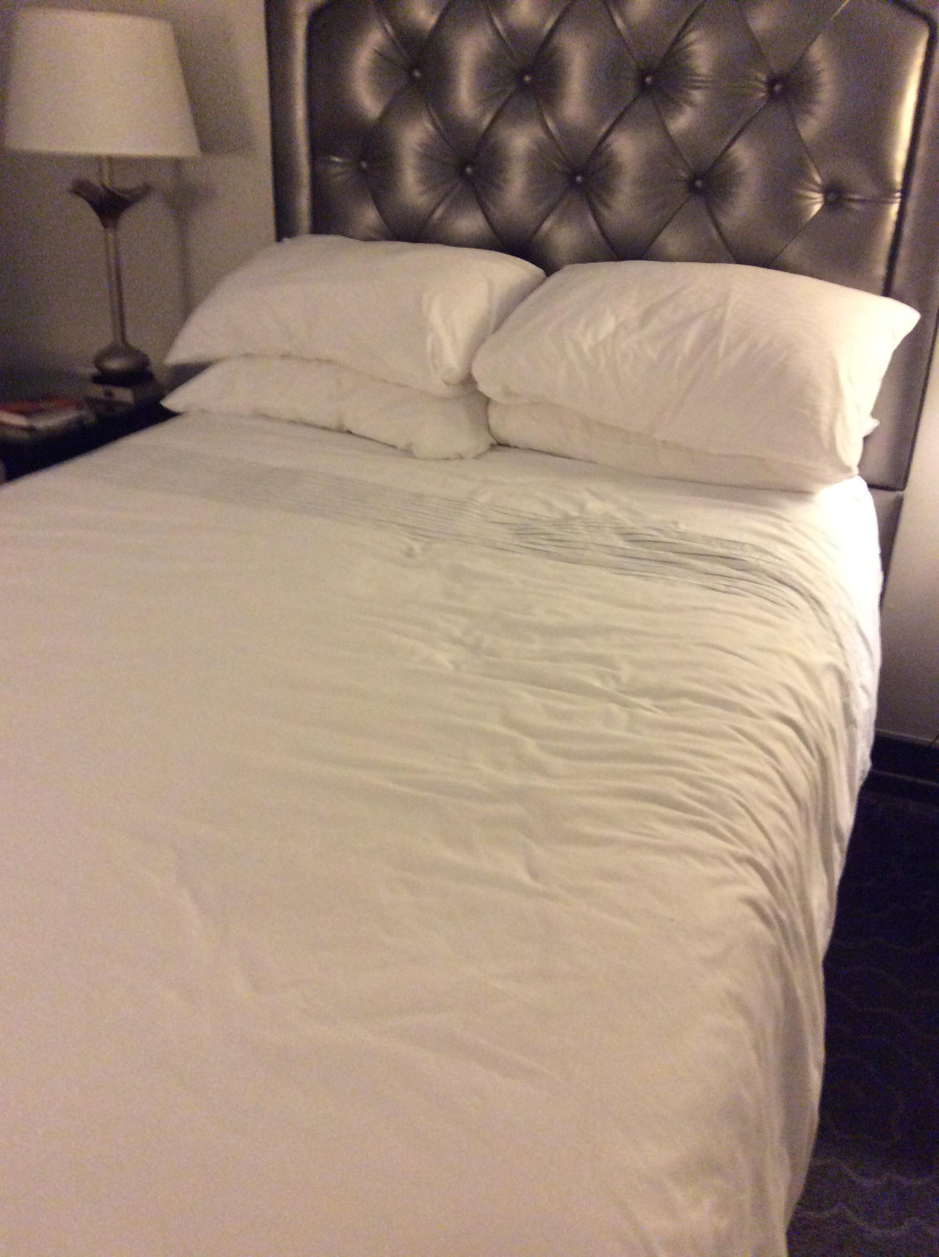 And the four foot bed for two adults.
