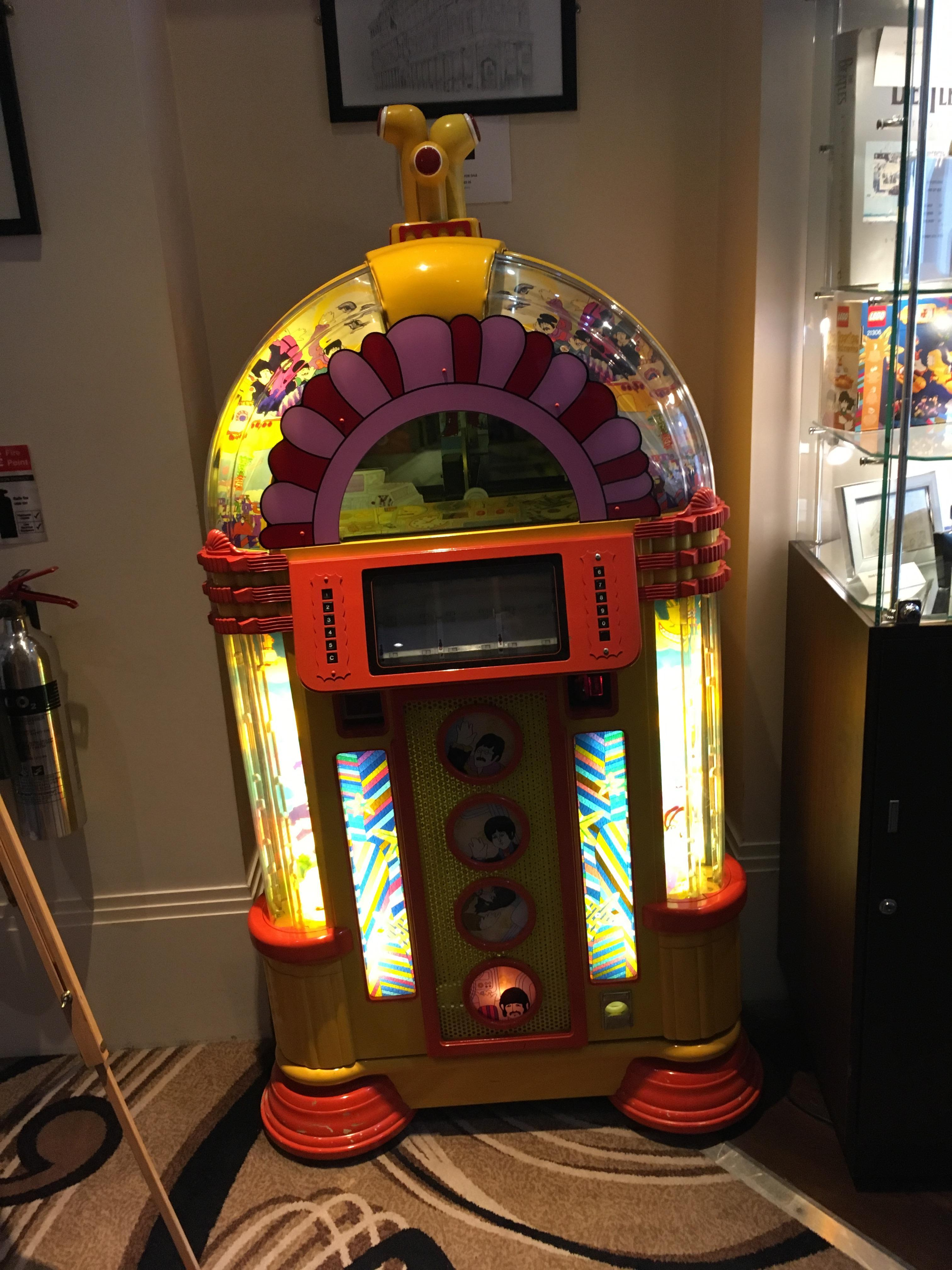 Jukebox in reception