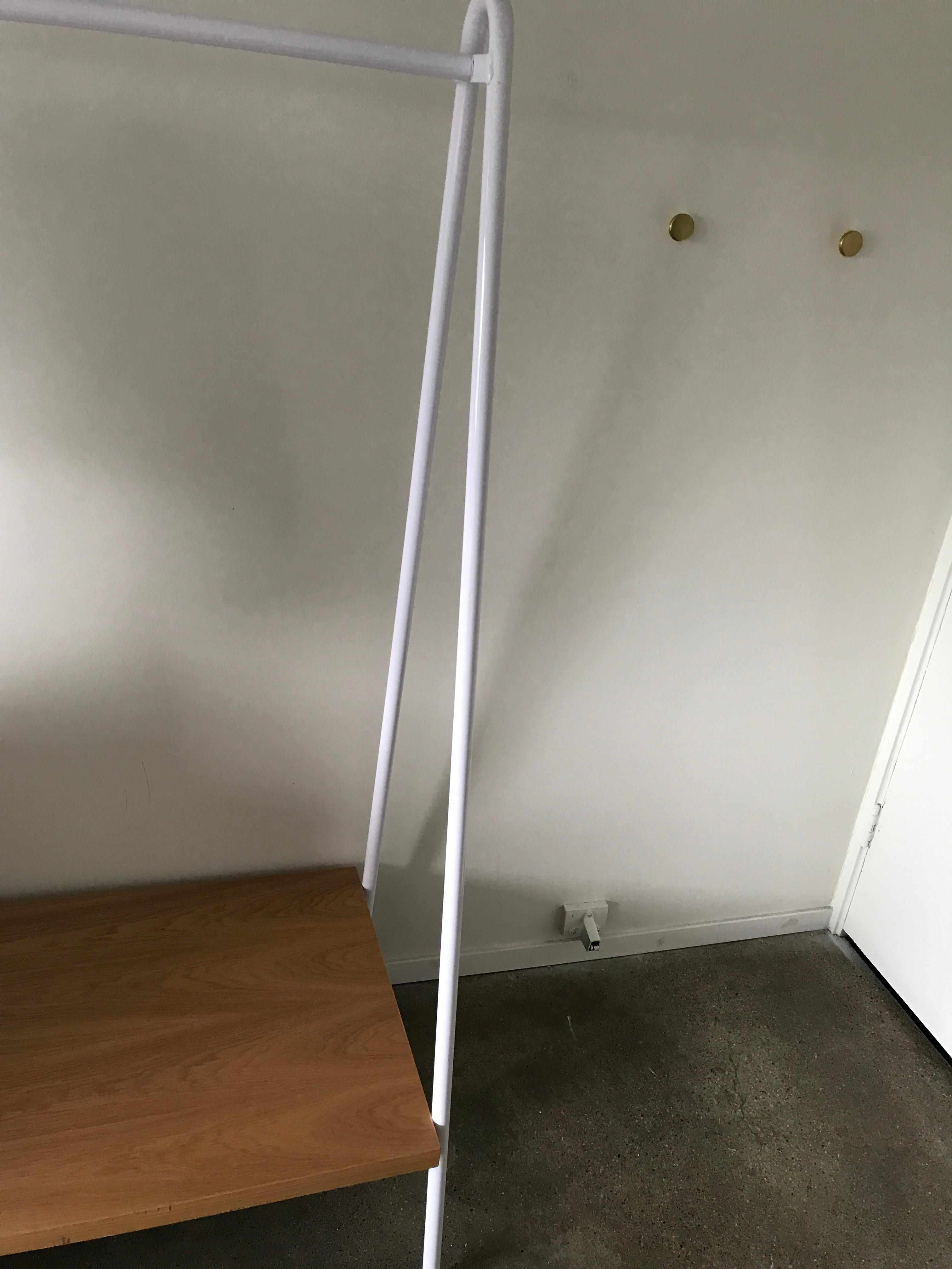 These poles are the closet