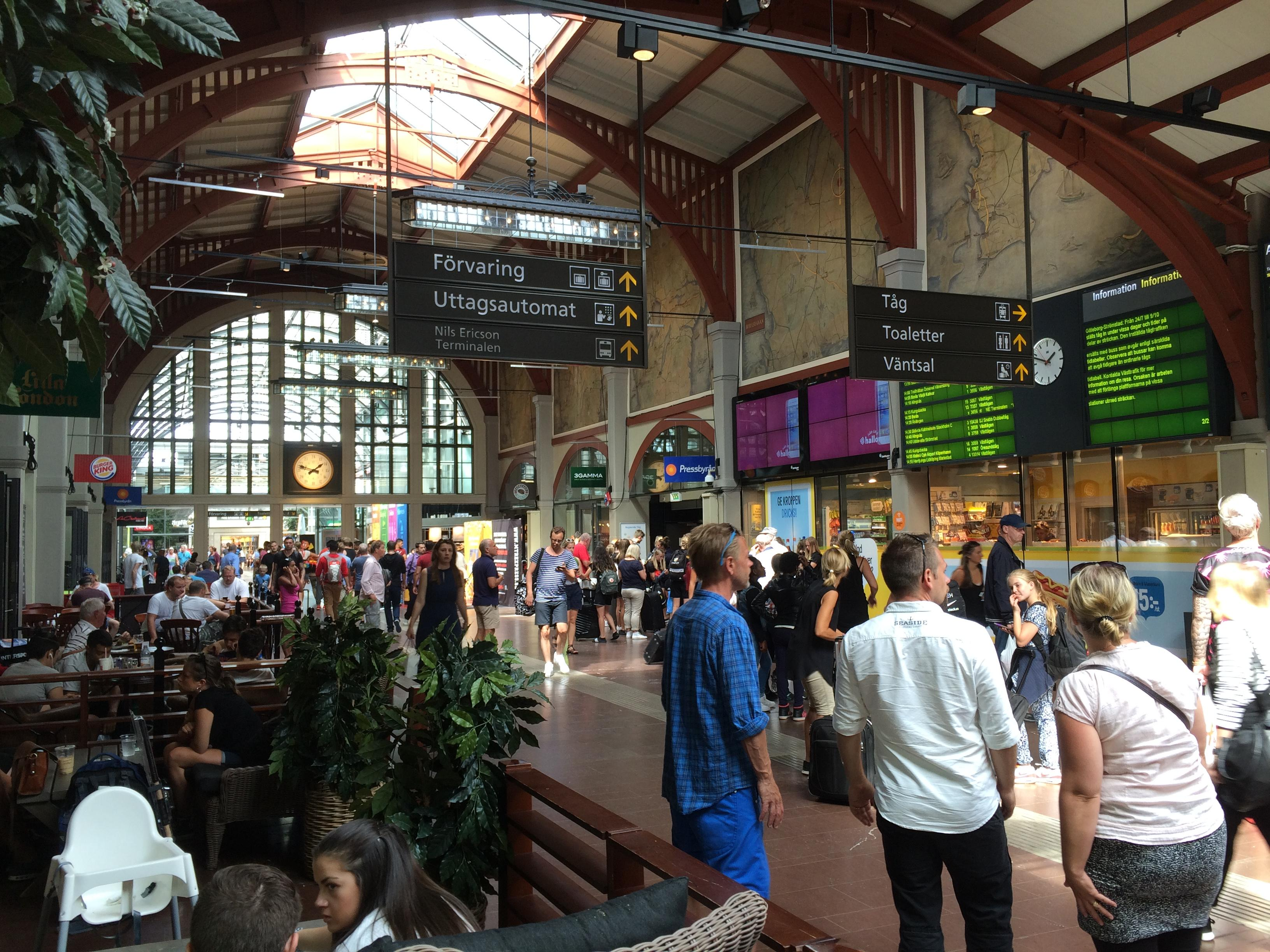 Centralstation Göteborg - Parterre