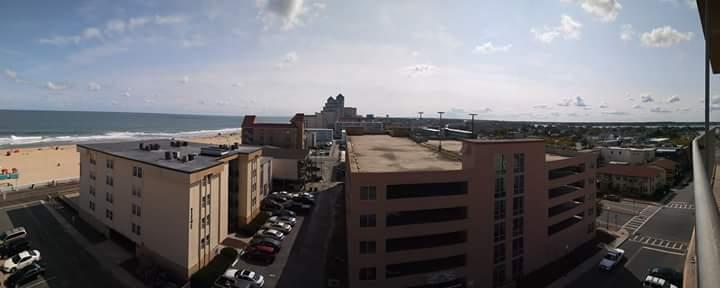 Panoramic view from balcony (7th floor)