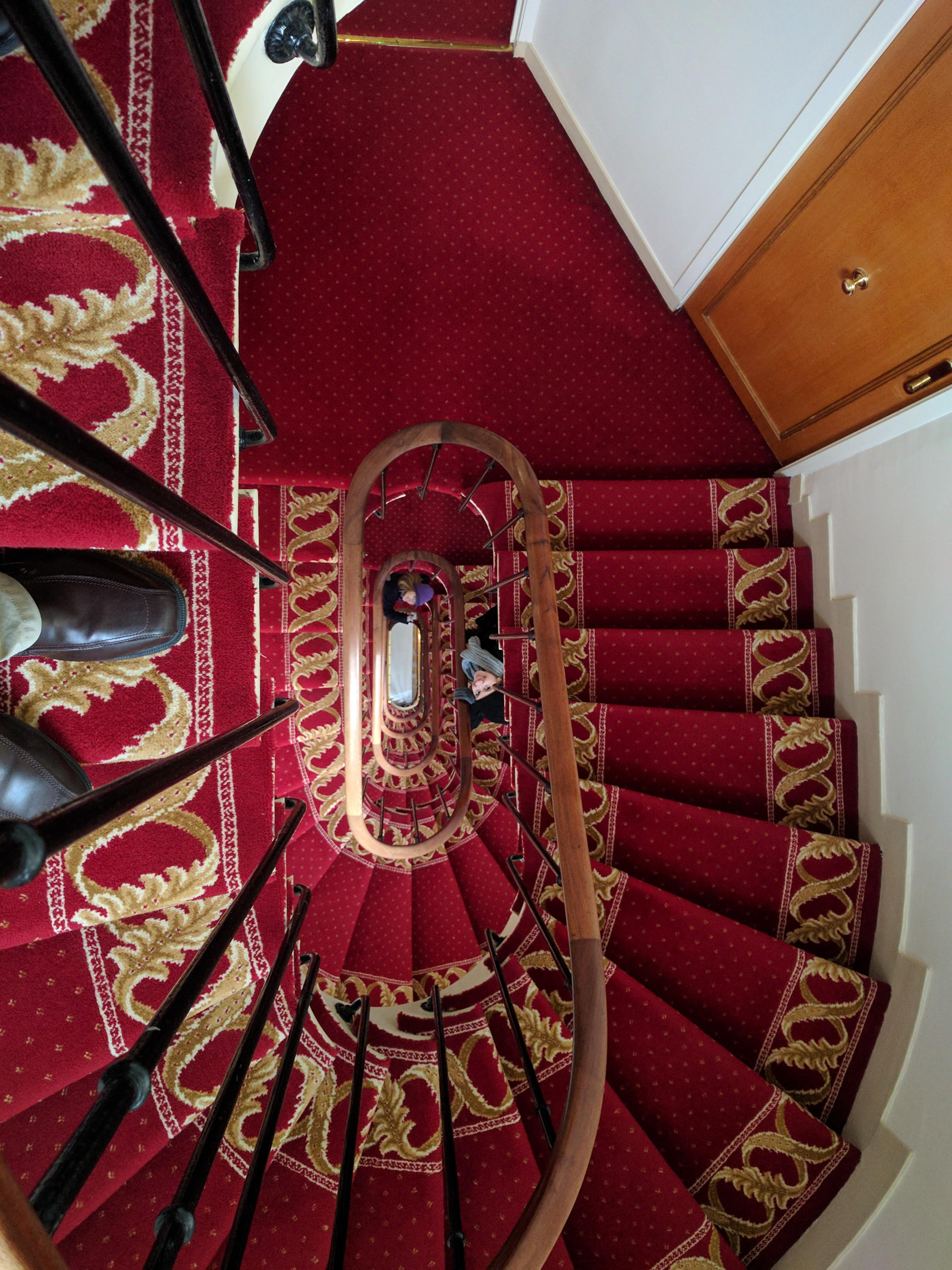 Stairway in hotel