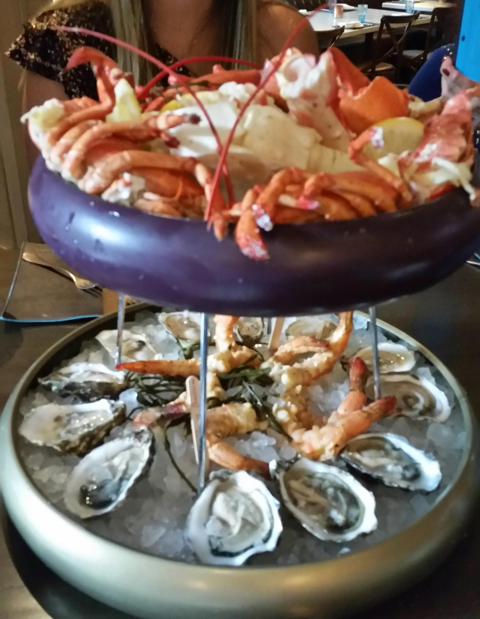 Seafood tower @ Herringbones