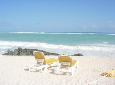 the beach chairs welcome you
