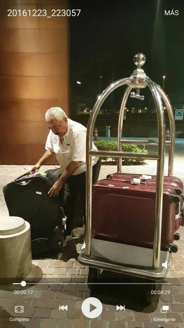 Taking care of our baggage