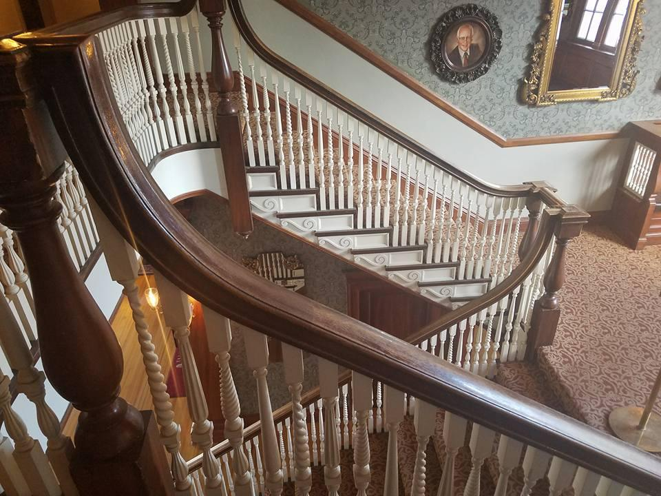 Magnificent staircases everywhere
