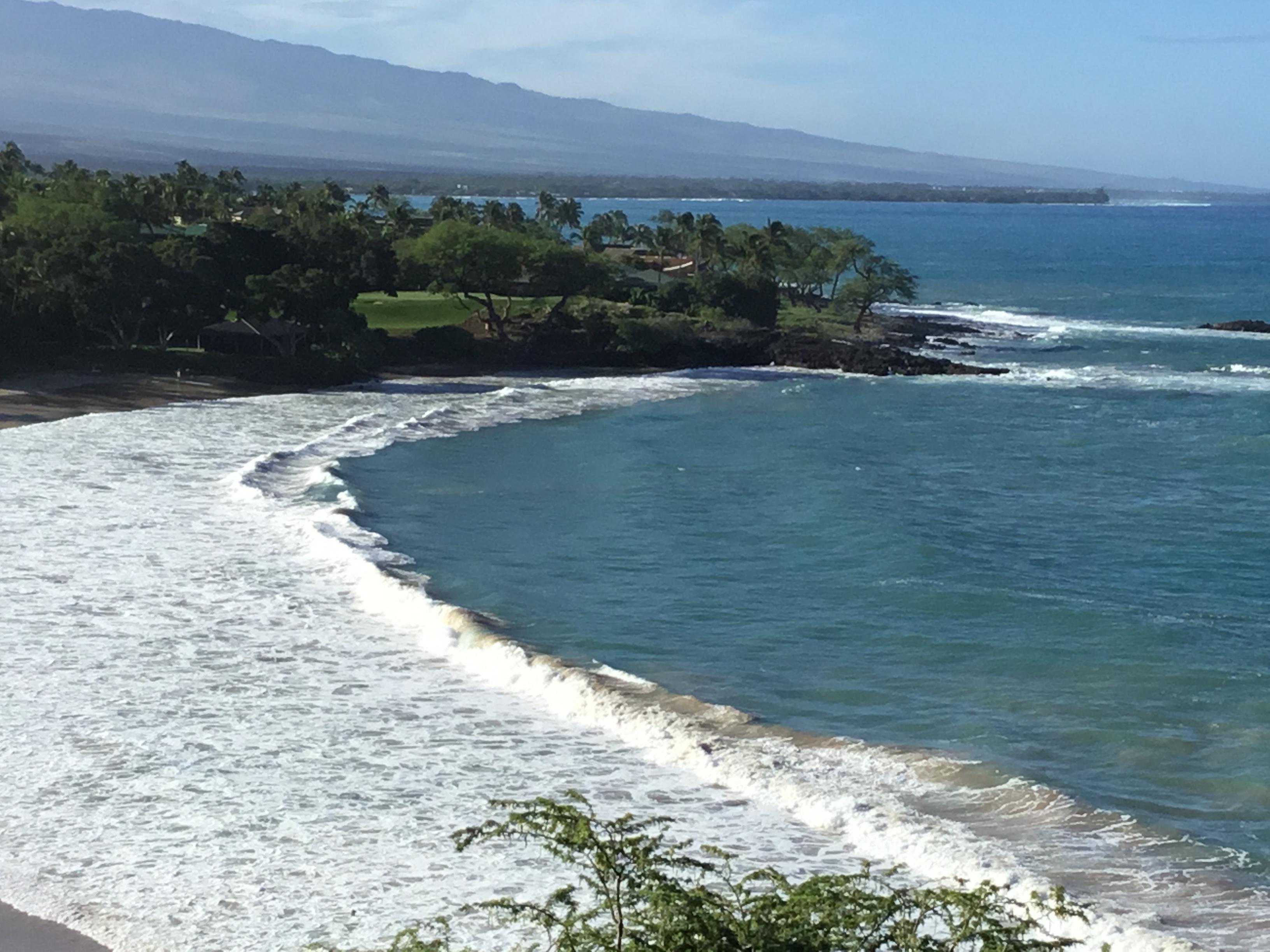 Lava cliffs and Mantas