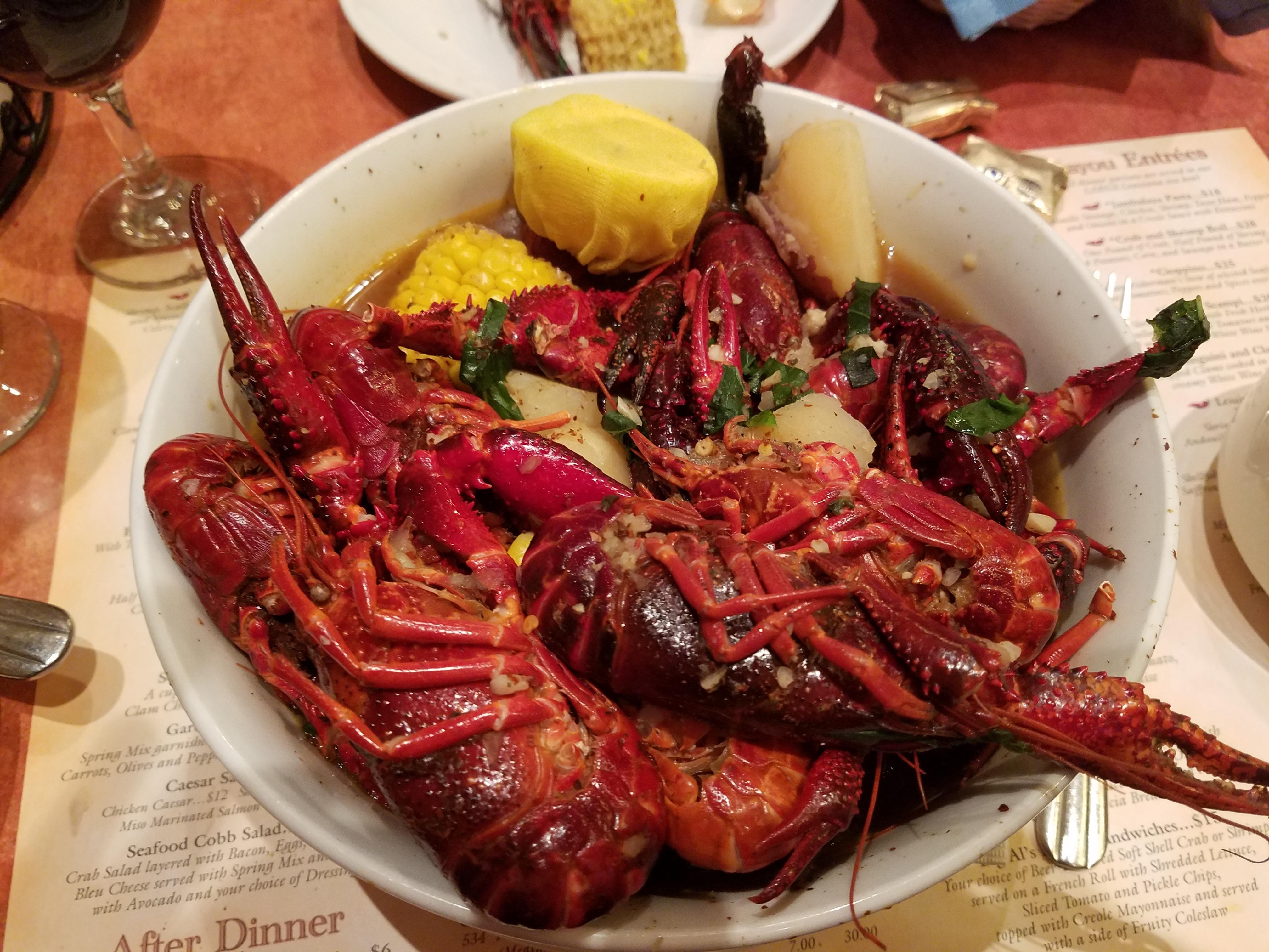 Shrimp and Crablegs Boil