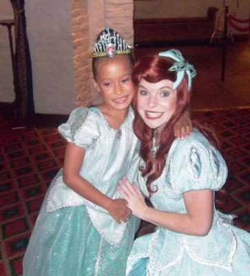 Princess meets Princess!