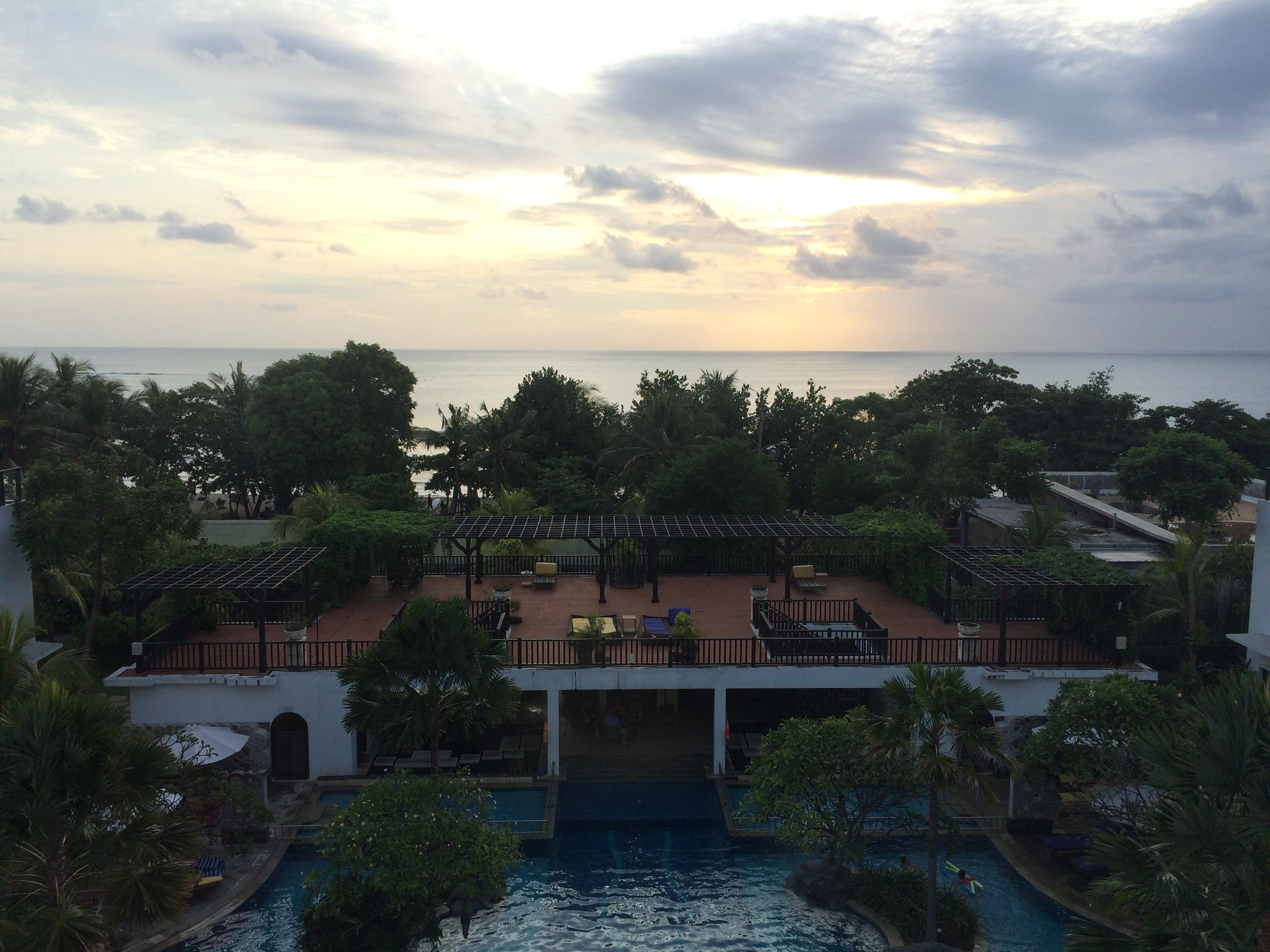 View from ocean view room