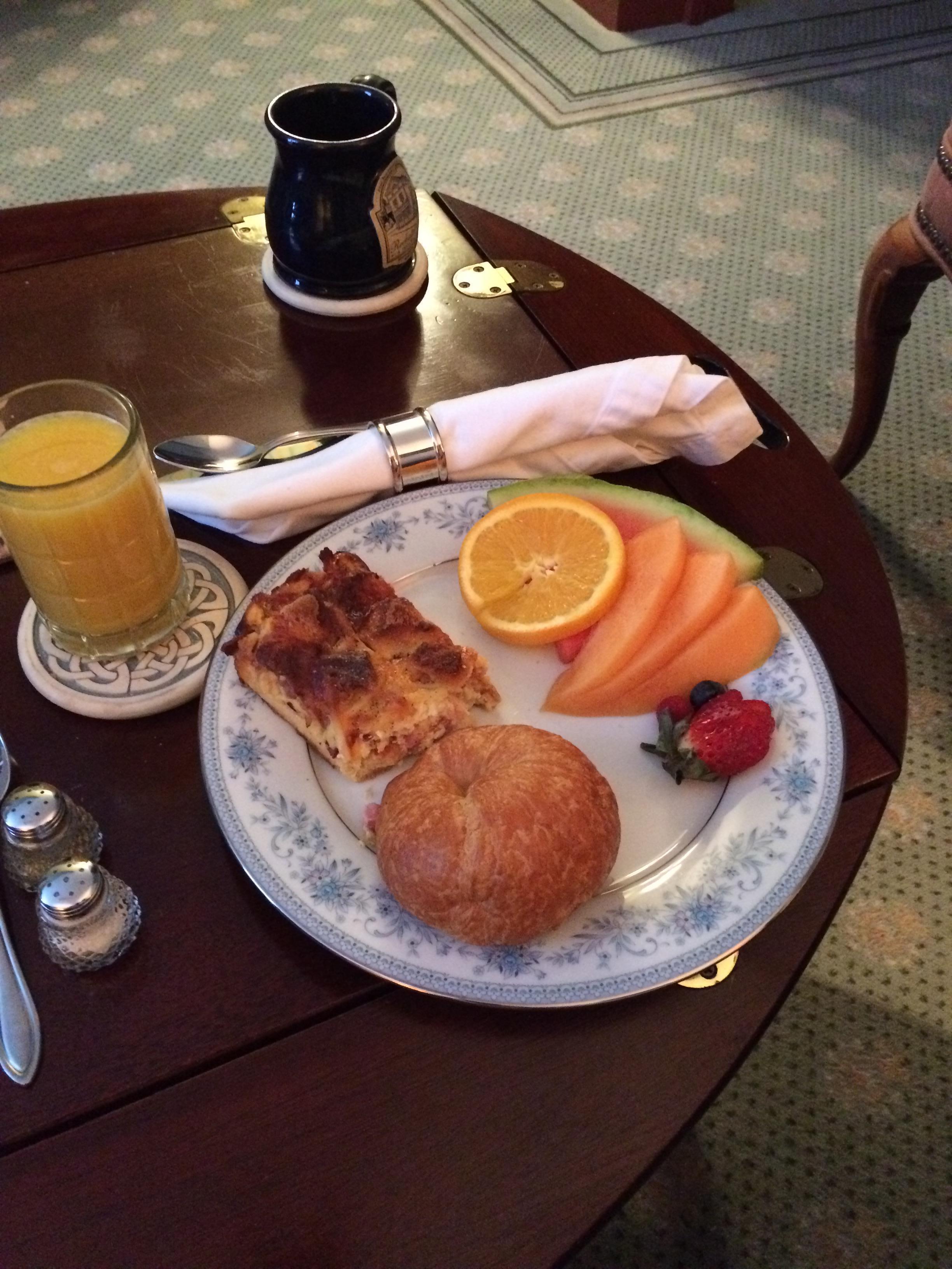 Gluten free breakfast!