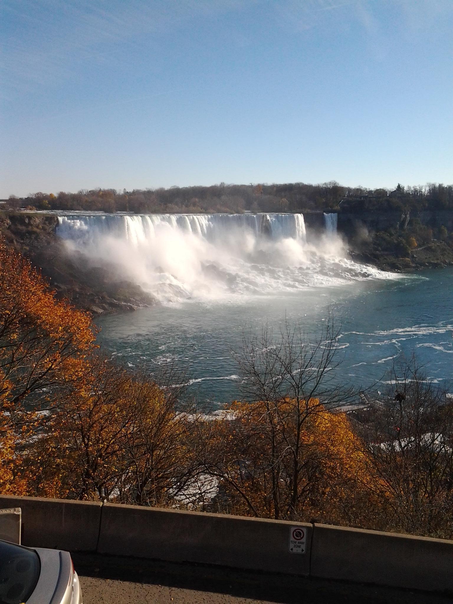 Niagara Falls. Hornblower