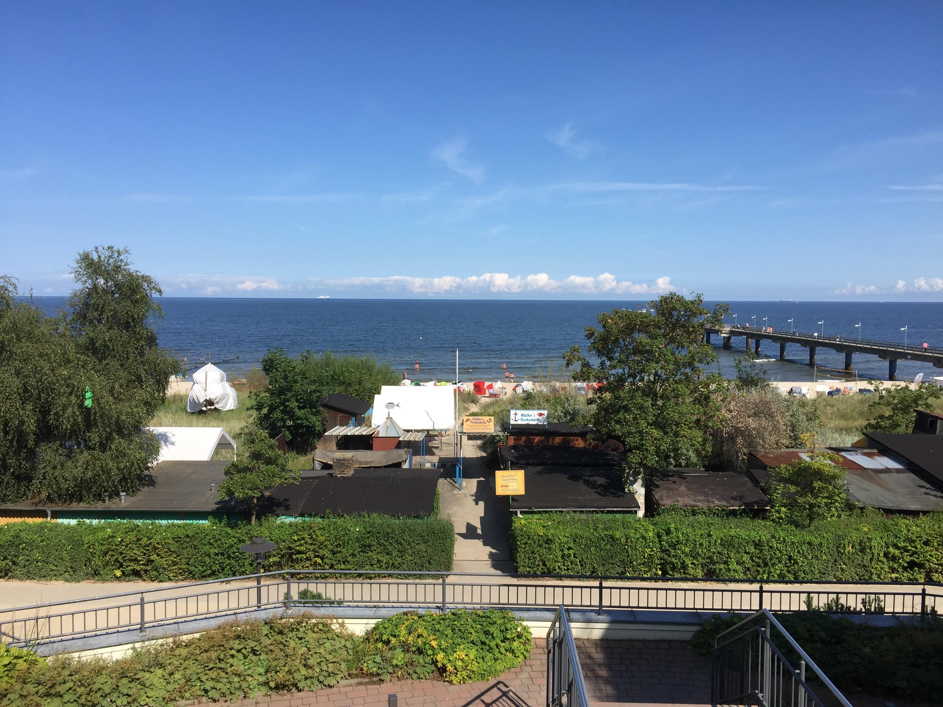 Ausgang hinten zur Ostsee