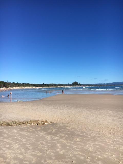 Beach walk to The Pass