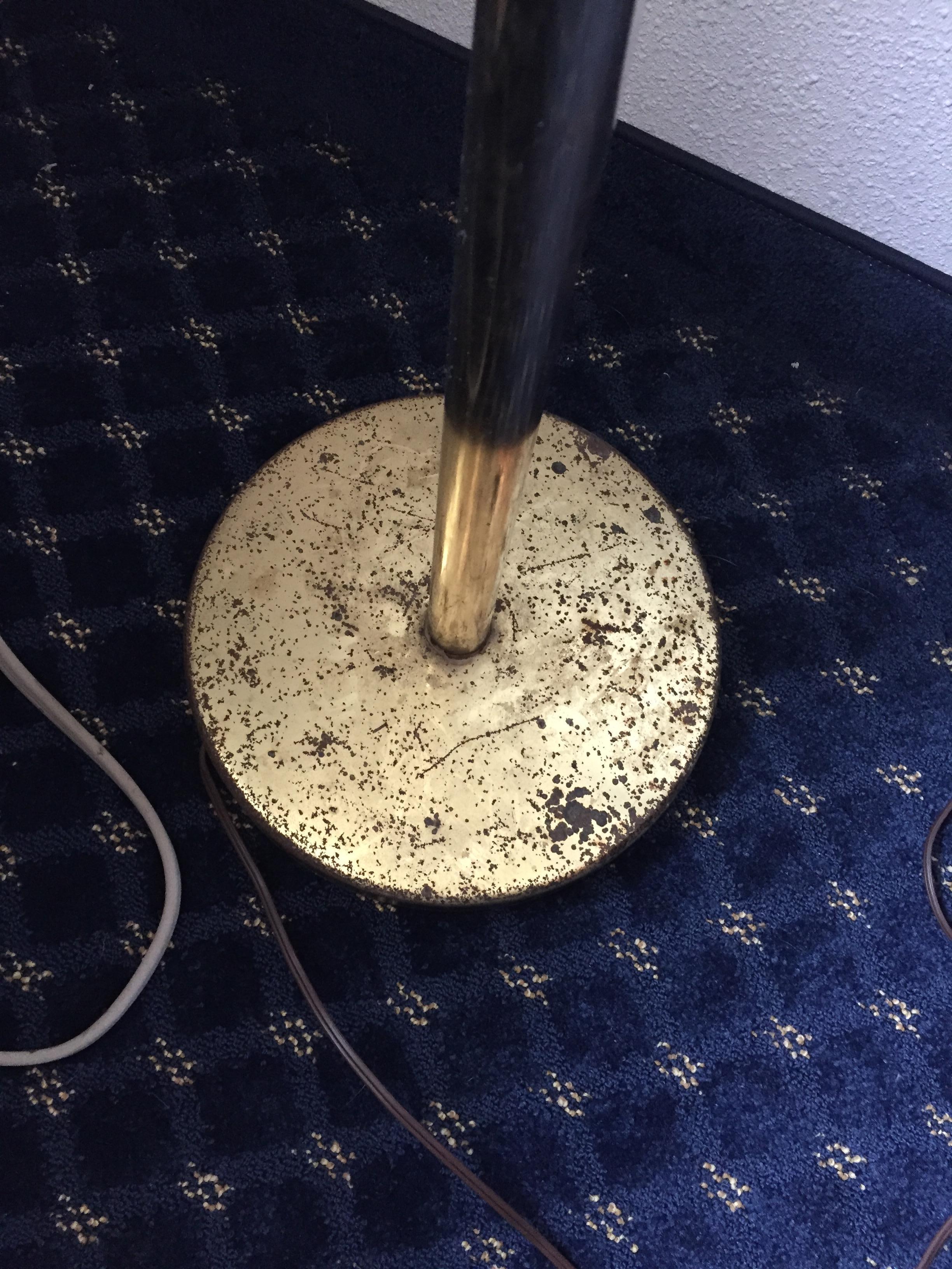 Rusty lamp did not work