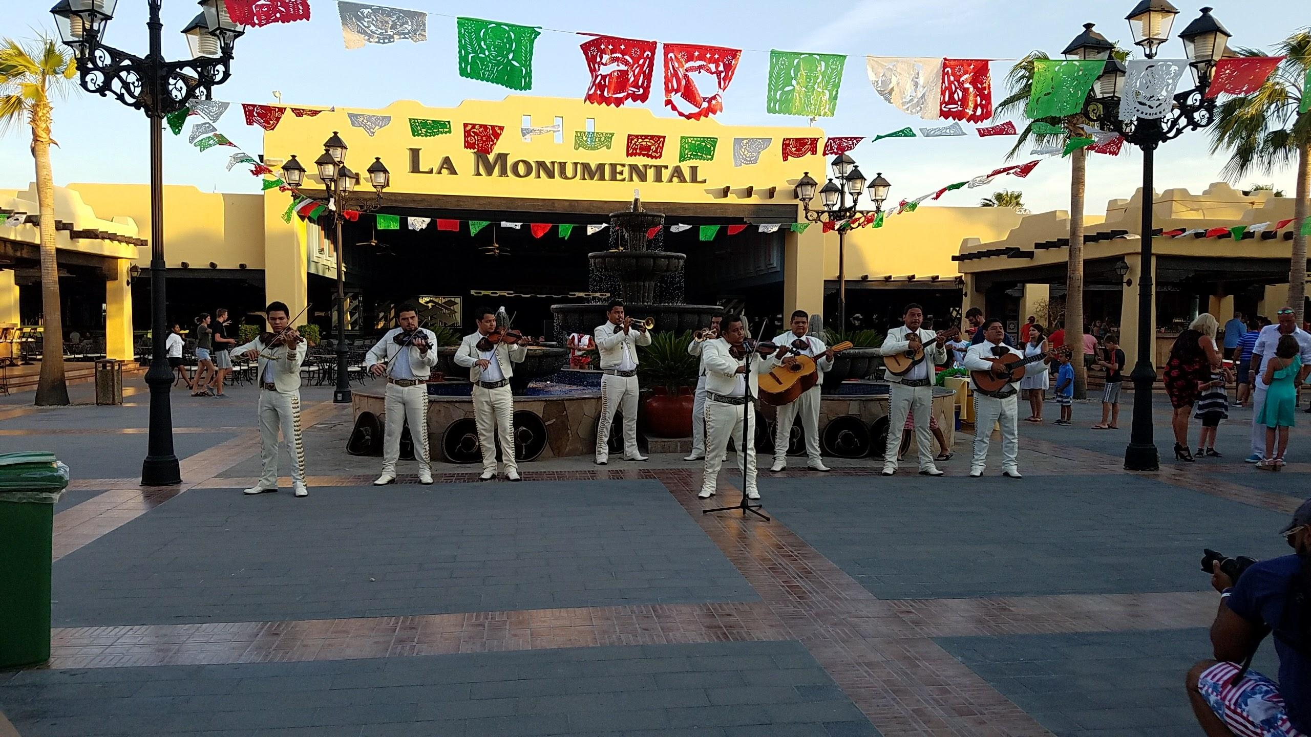 Mexican fiesta night. Great mariachi and activities for the kids.