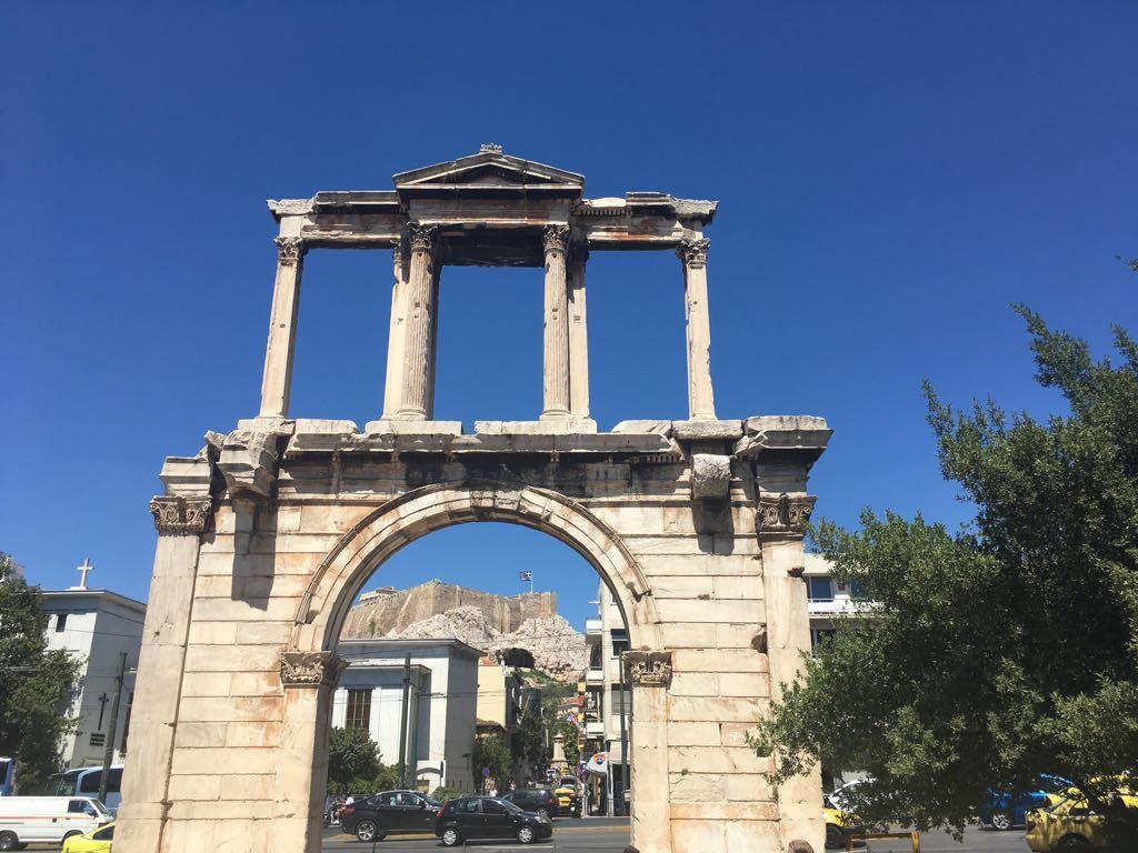 Entrance for Zeus temple