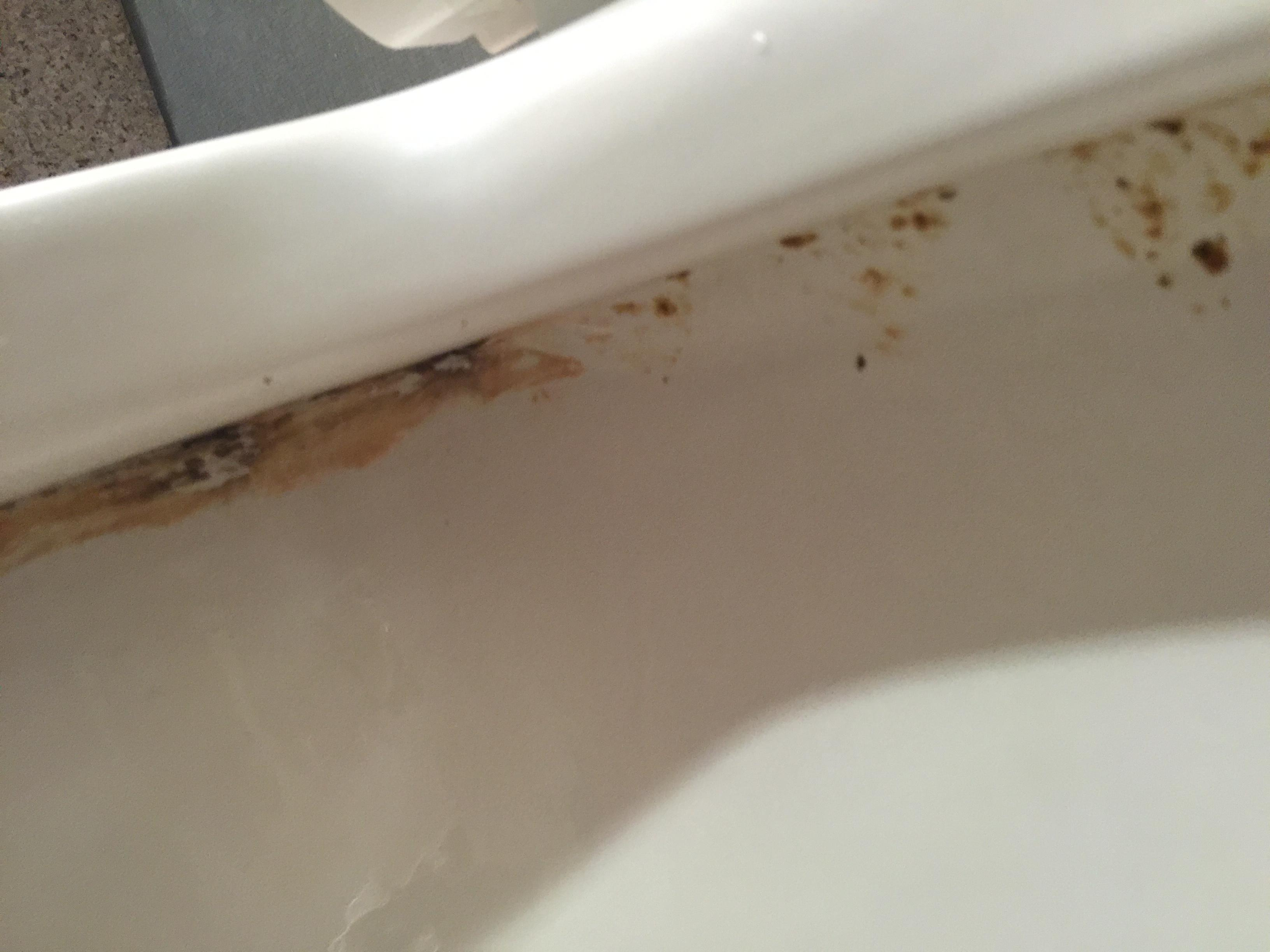 Uncleaned toilet bowl