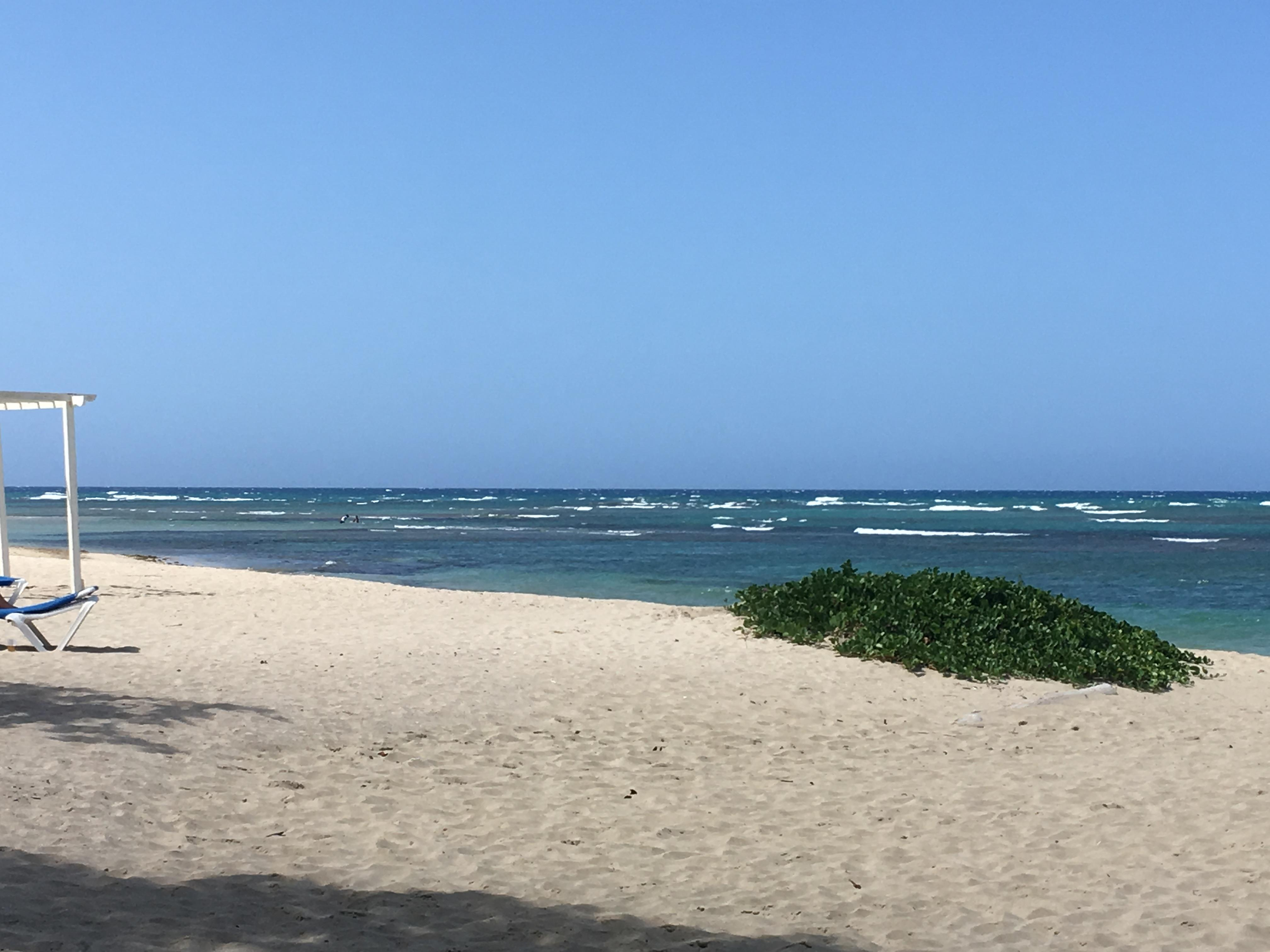 Beach, always plenty of lounge chairs