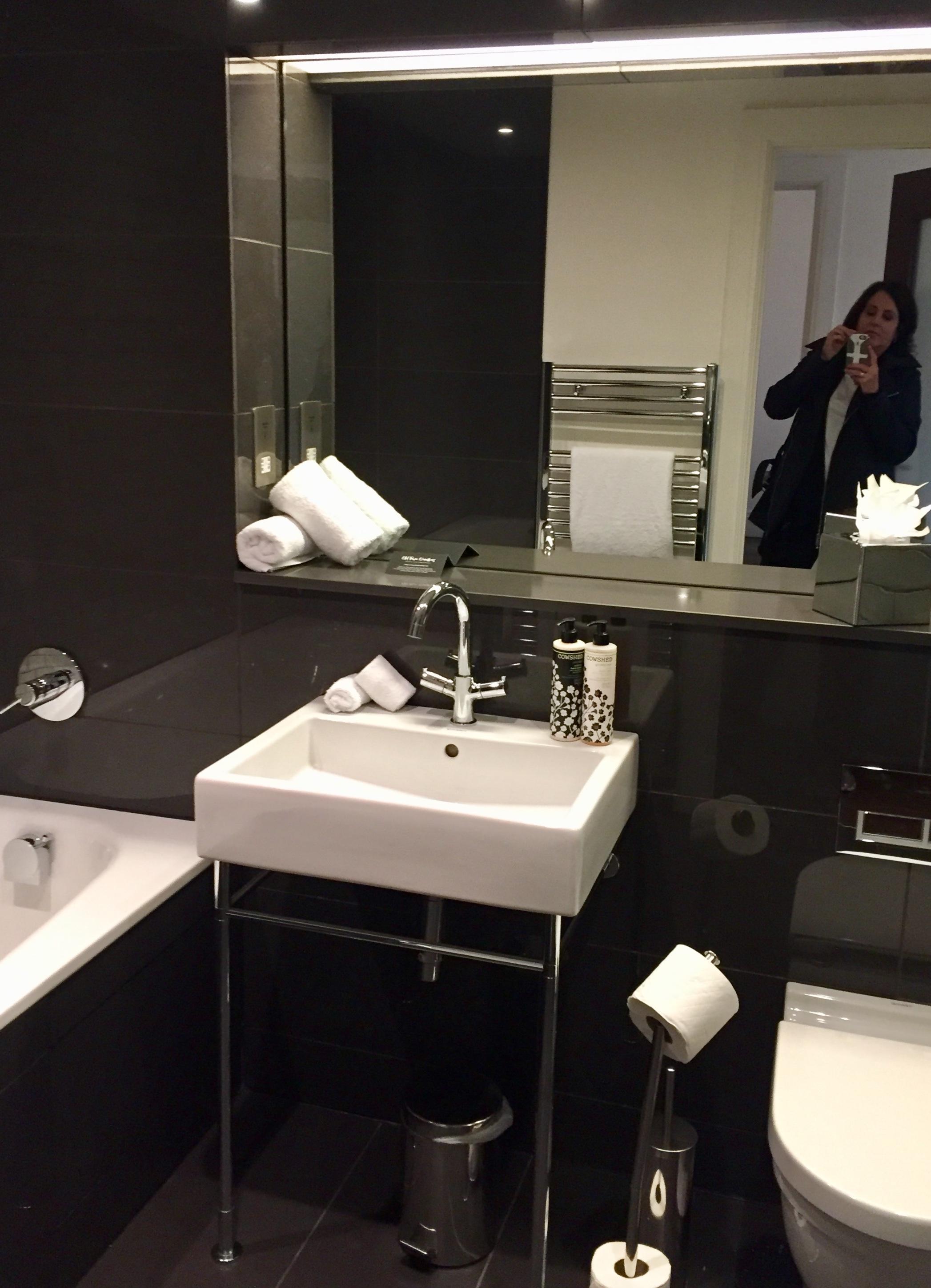 Bathrooms were so lovely.