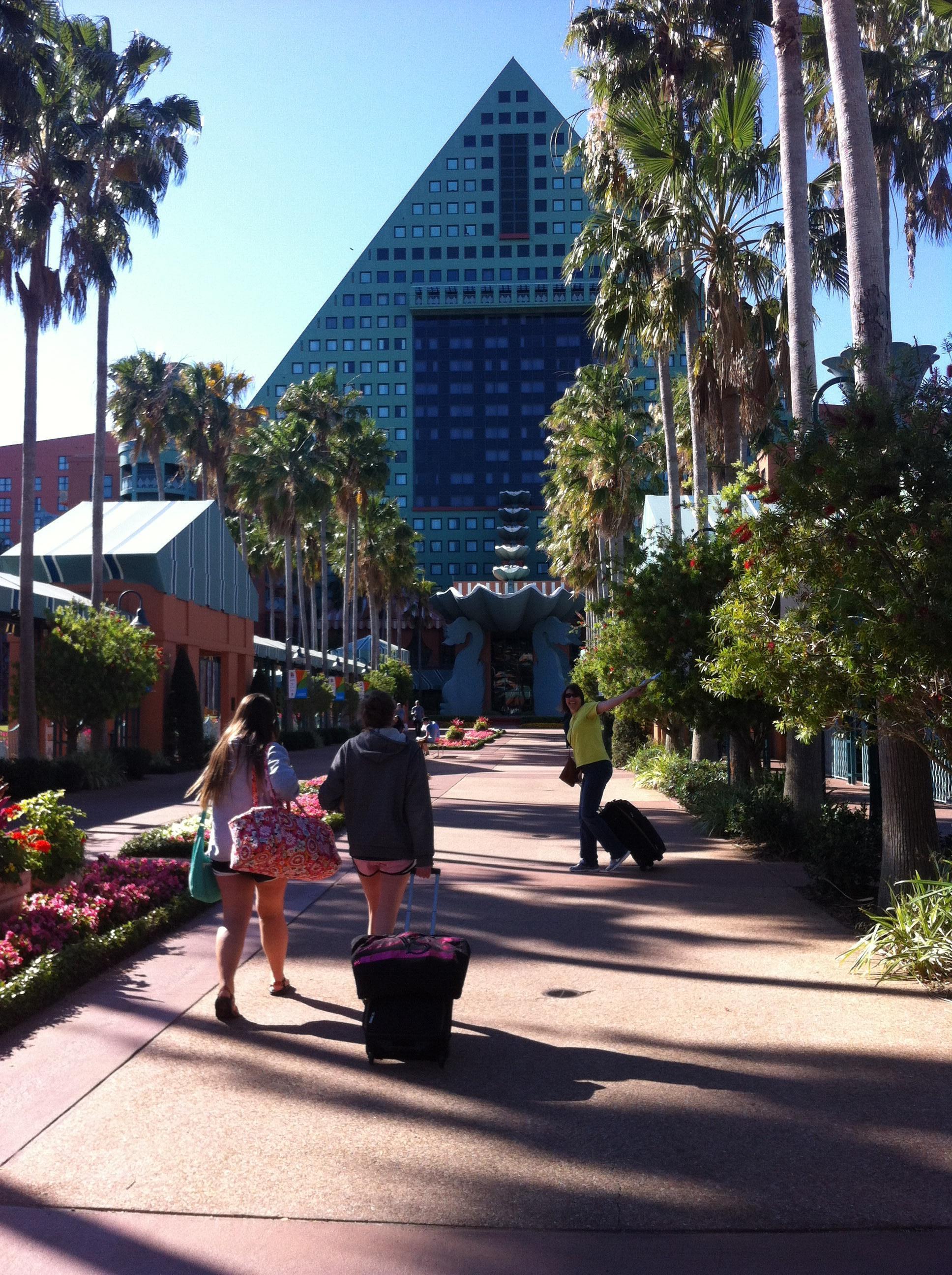 Hotel through travelocity